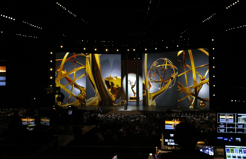 70th Primetime Emmy Awards - Show - Los Angeles, California, U.S., 17/09/2018 - Tina Fey during In Memoriam segment. REUTERS/Mario Anzuoni