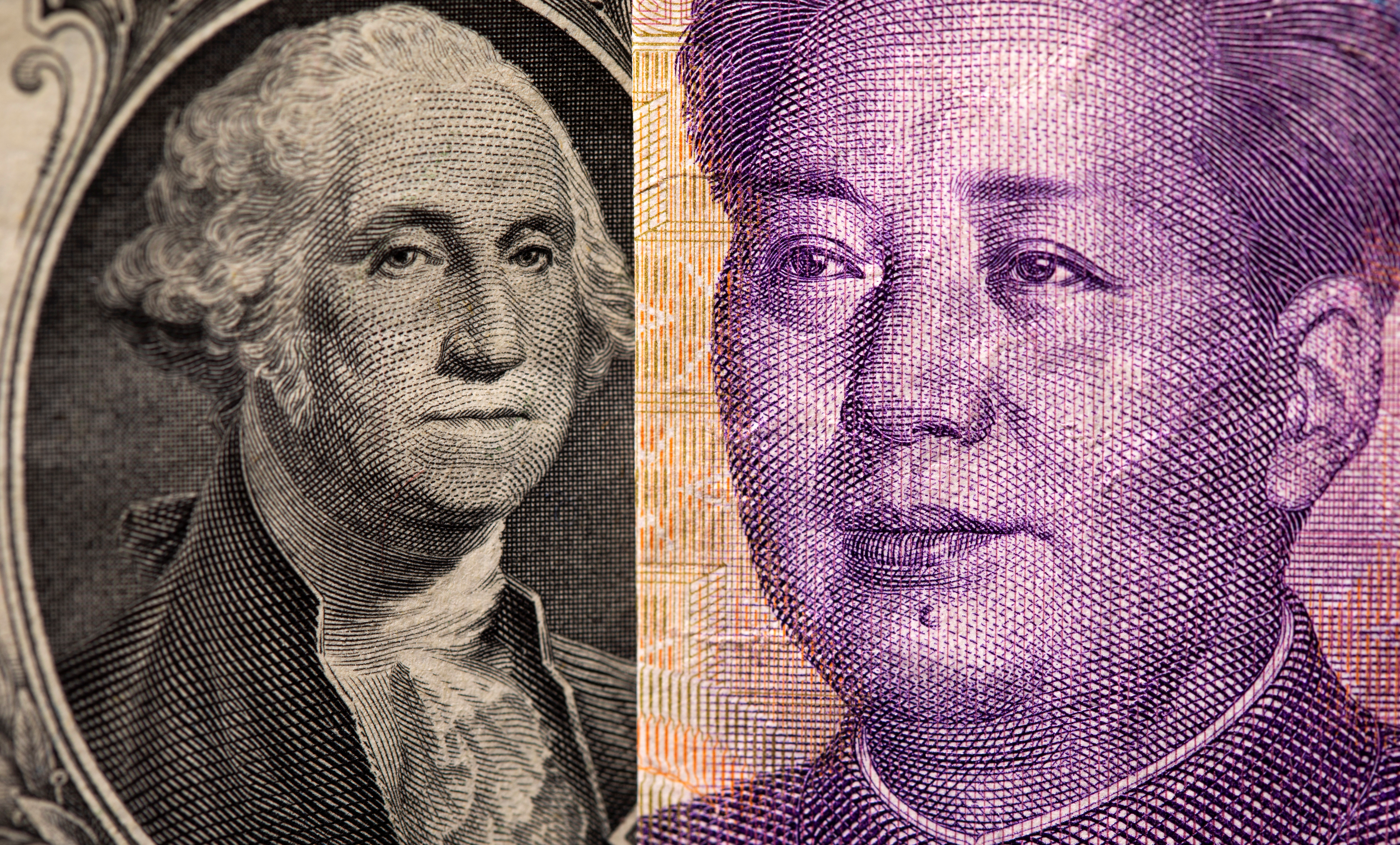U.S. one dollar and Chinese Yuan are seen in this illustration taken May 7, 2021. REUTERS/Dado Ruvic/Illustration