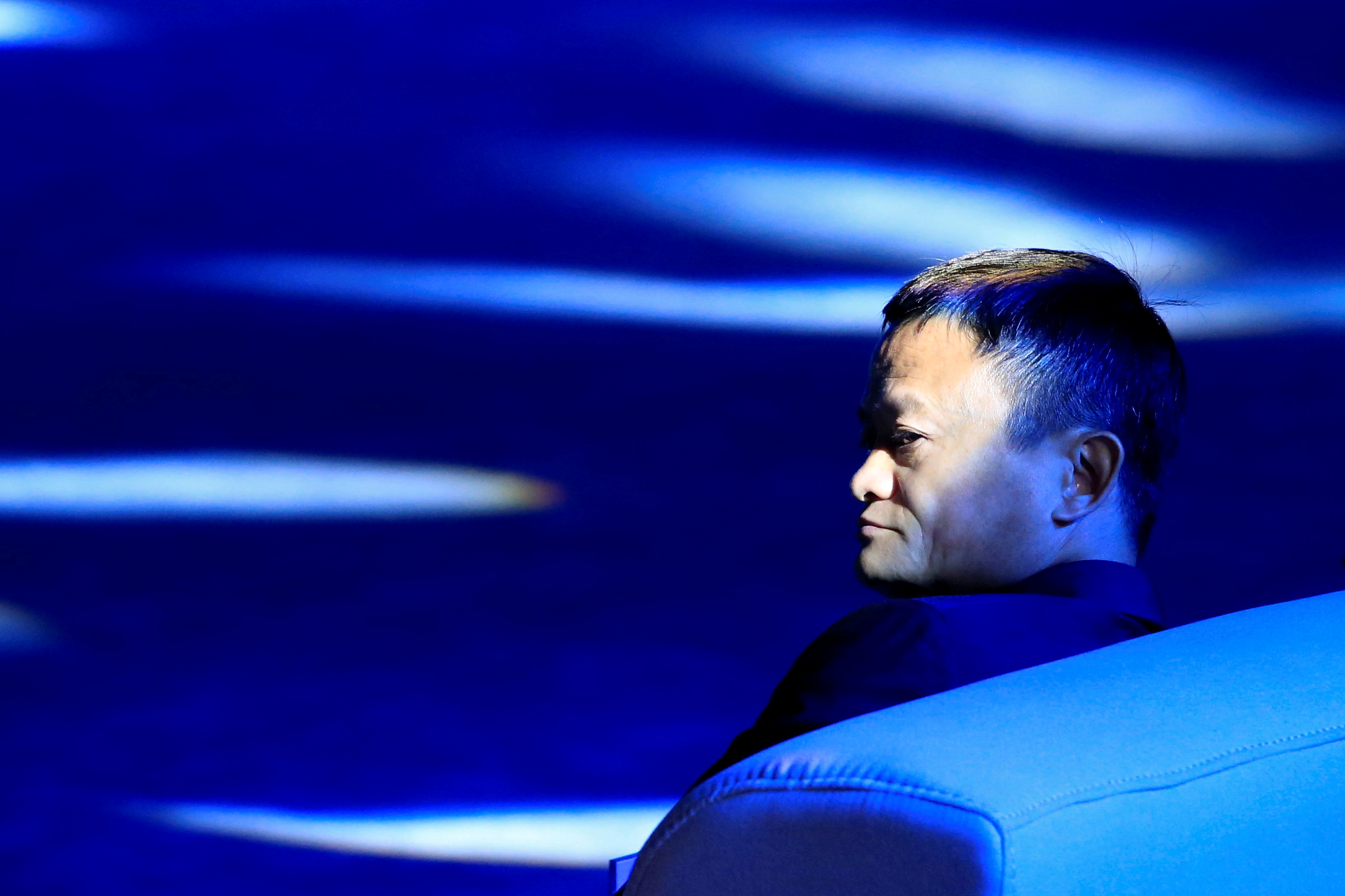 Alibaba Group co-founder and executive chairman Jack Ma attends the World Artificial Intelligence Conference (WAIC) in Shanghai, China, September 17, 2018.  REUTERS/Aly Song