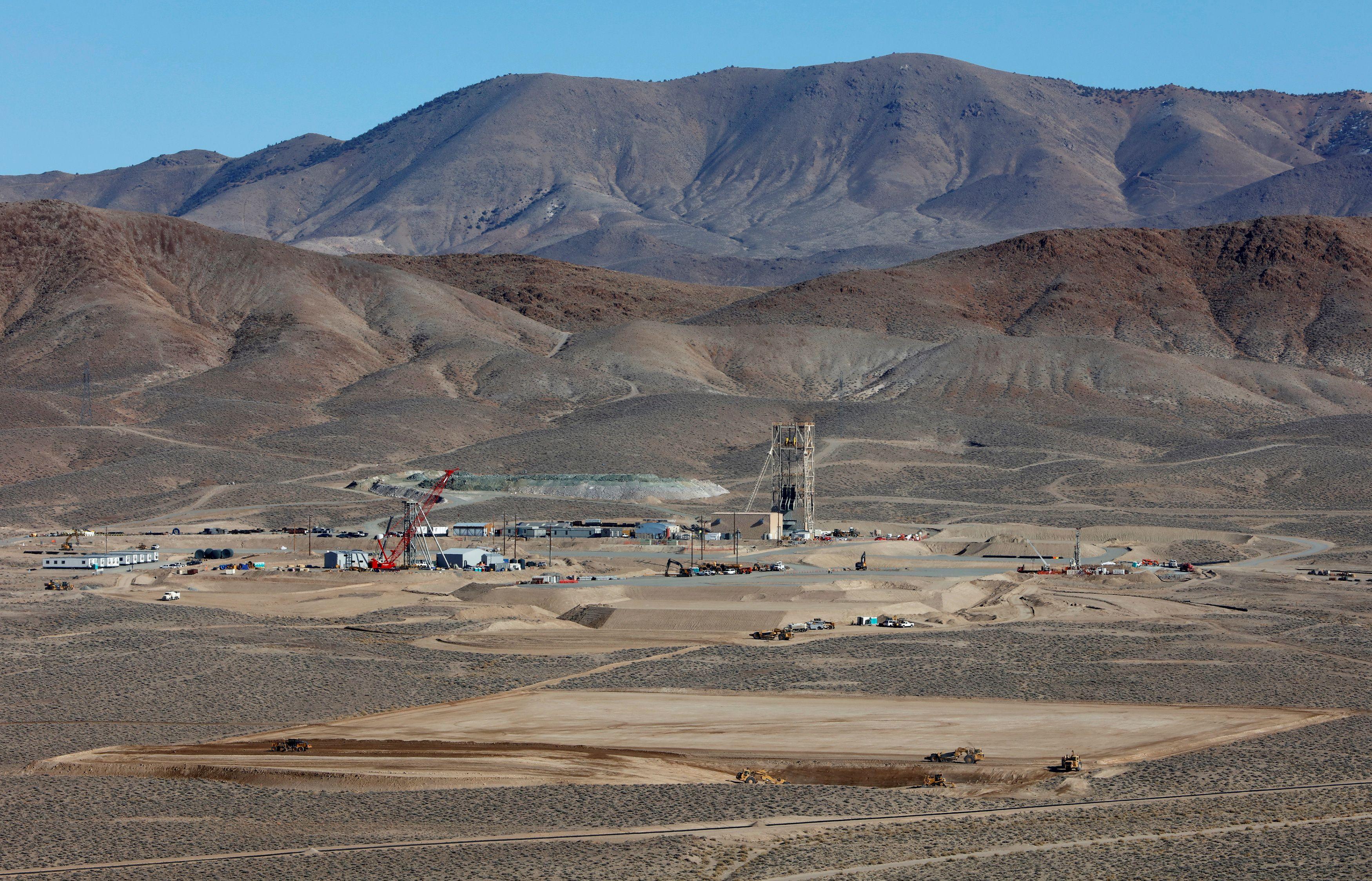 General view of Nevada Copper's Pumpkin Hollow copper mine in Yerington, Nevada, U.S., January 10, 2019. REUTERS/Bob Strong