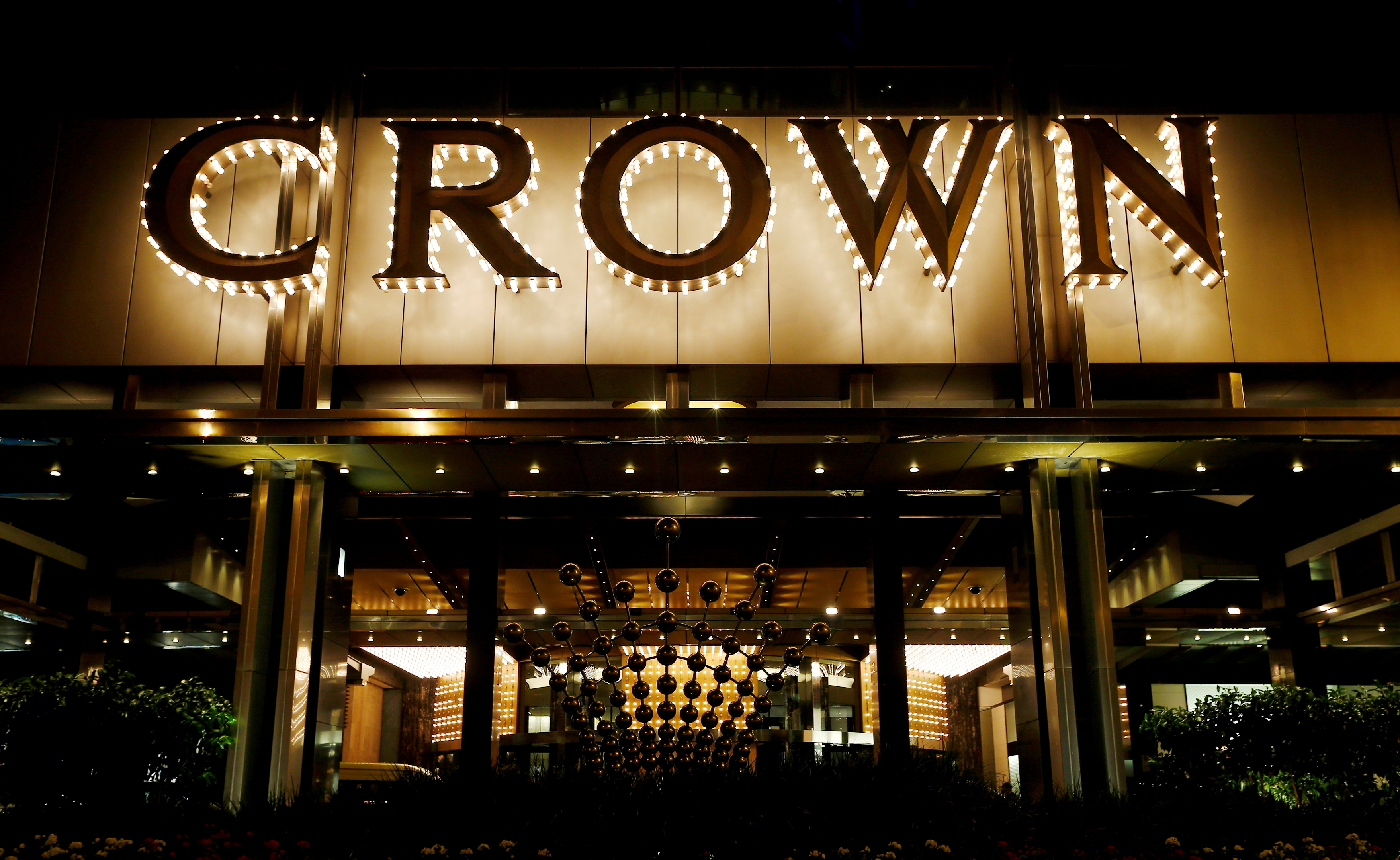 The Crown Casino complex is pictured in Melbourne March 19, 2016. REUTERS/Jason Reed/File Photo