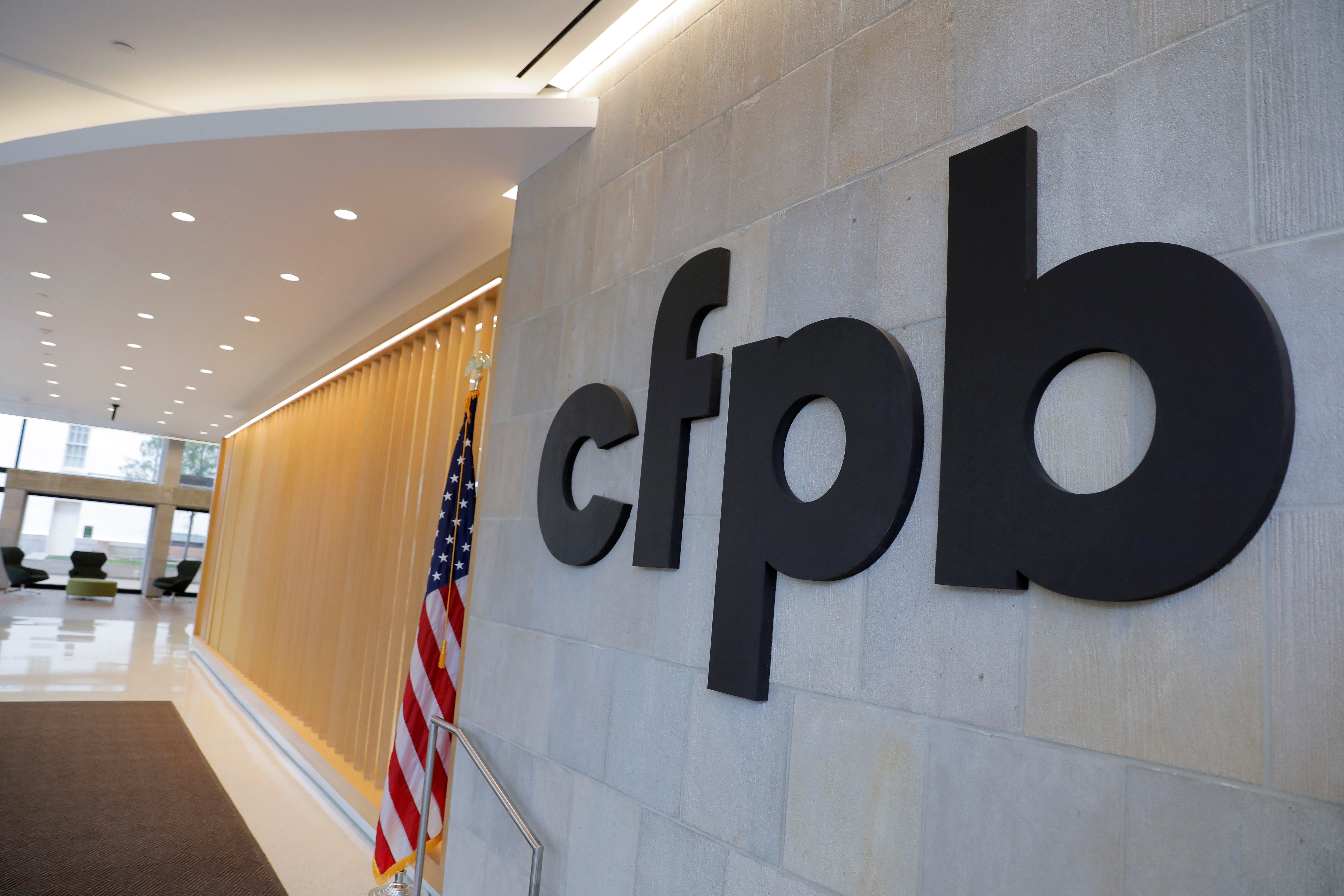 The Consumer Financial Protection Bureau (CFPB) headquarters in Washington, D.C. REUTERS/Andrew Kelly