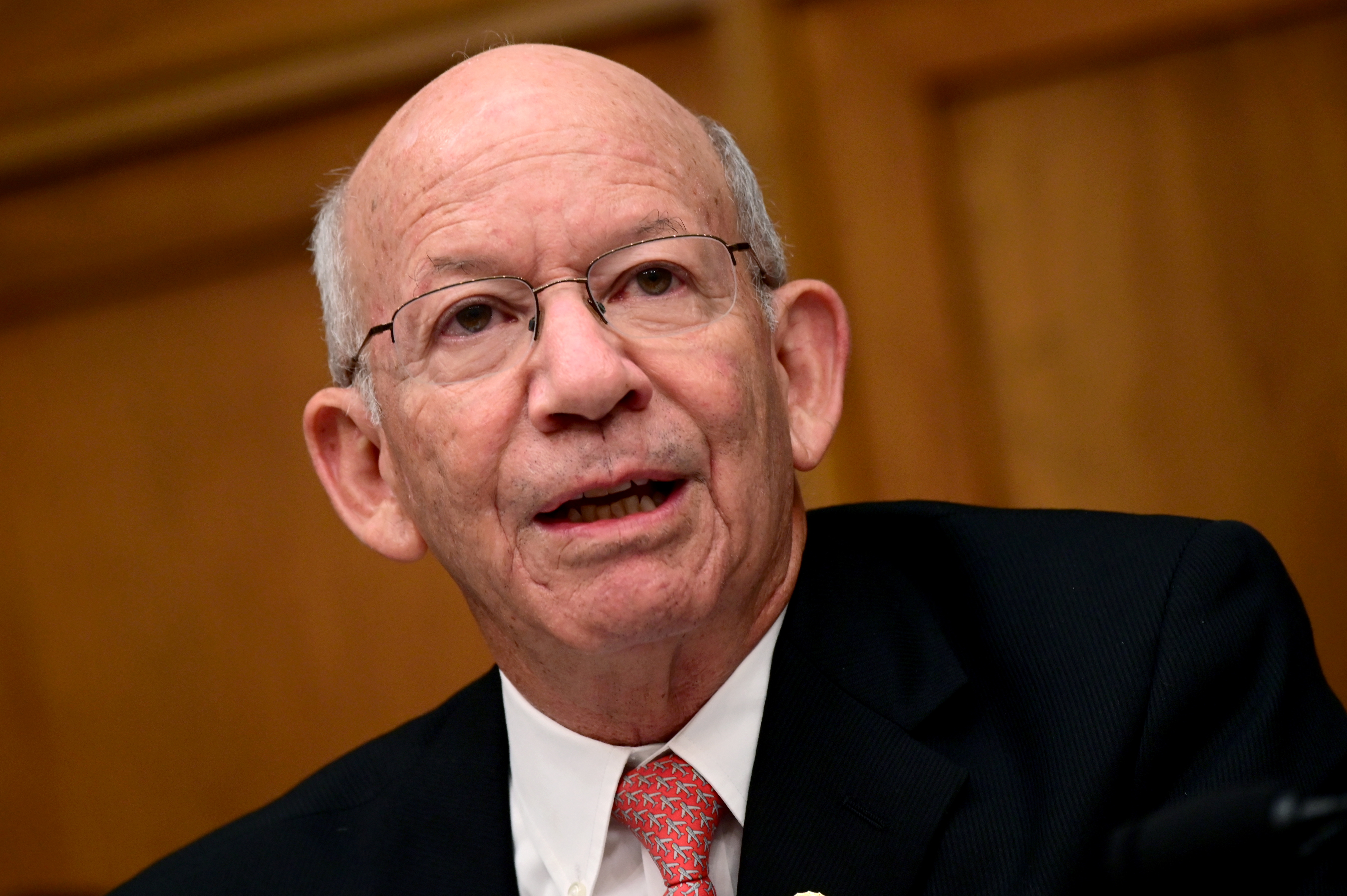 Representative Peter DeFazio (D-OR) speaks during a House Transportation and Infrastructure Aviation Subcommittee hearing  in Washington, D.C., U.S., July 17, 2019. REUTERS/Erin Scott/File Photo