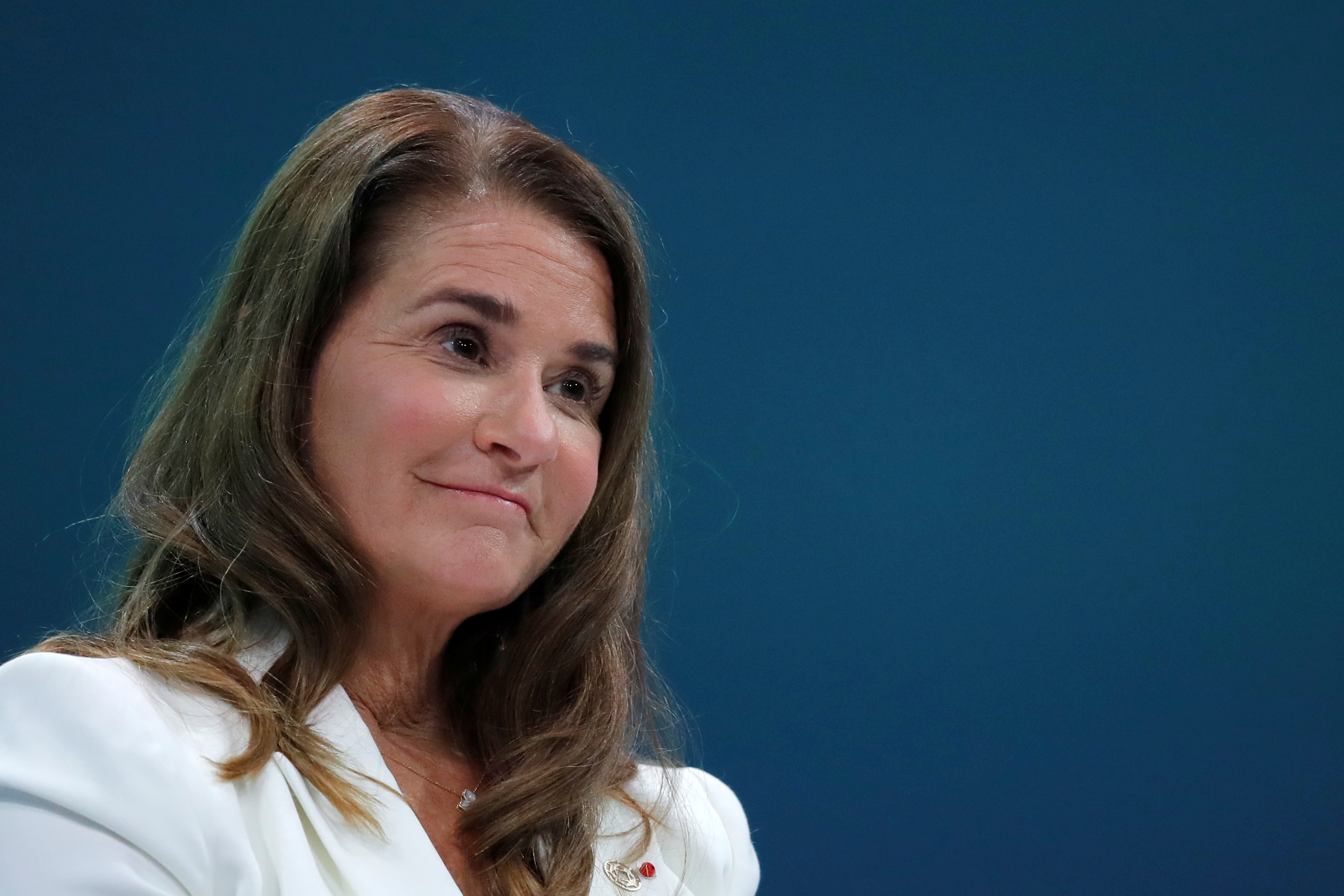 Melinda Gates, Co-Chair of the Bill and Melinda Gates Foundation, attends the opening ceremony of the Generation Equality Forum at the Louvre Carrousel in Paris, France, June 30, 2021. REUTERS/Gonzalo Fuentes