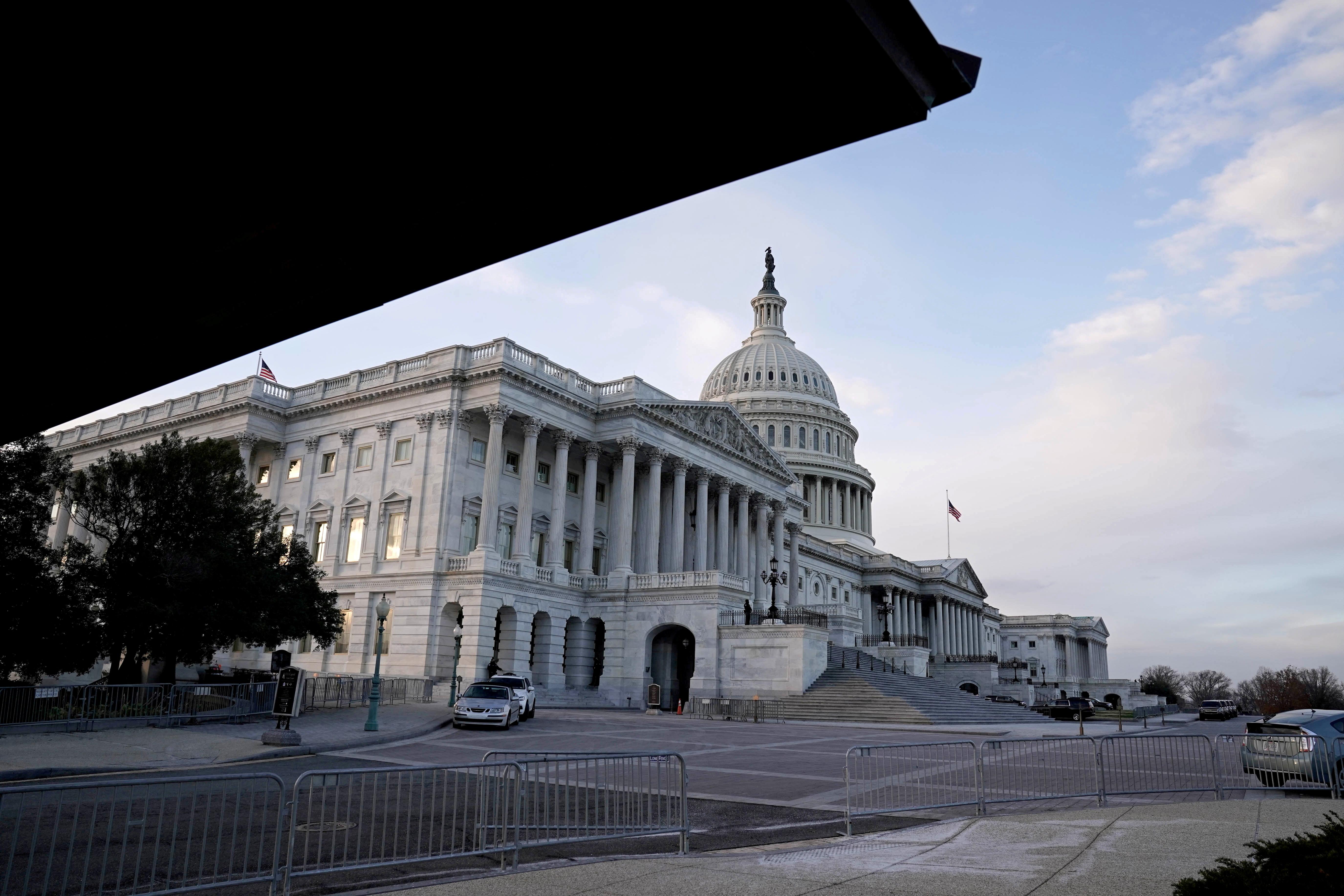 A view of the U.S. Capitol Building in Washington, D.C., U.S. December 21, 2020. REUTERS/Ken Cedeno