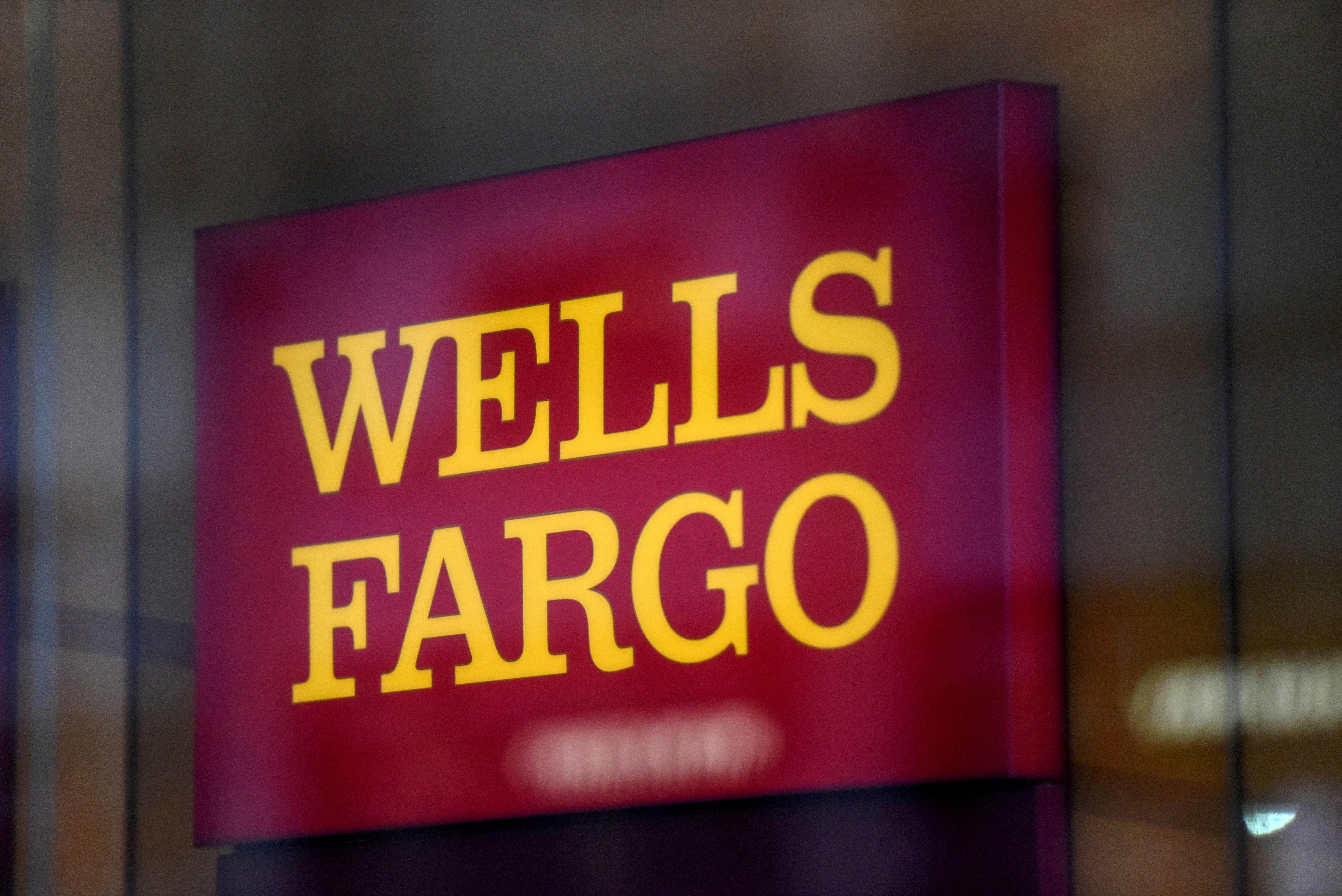 Wells Fargo logo is seen in New York City, U.S. January 10, 2017. REUTERS/Stephanie Keith