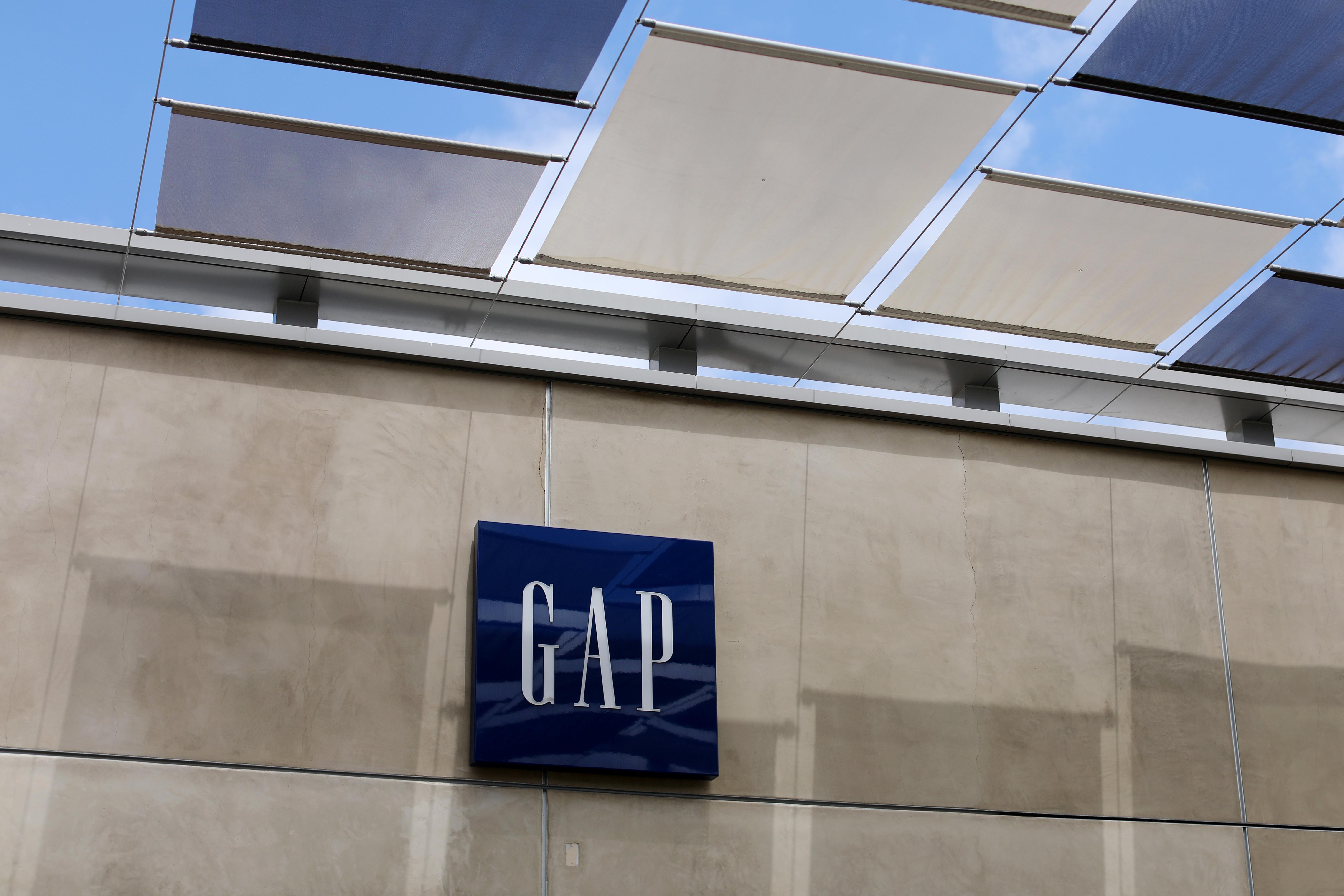A Gap Inc. retail store is shown in La Jolla, California, U.S., May 17, 2017. REUTERS/Mike Blake