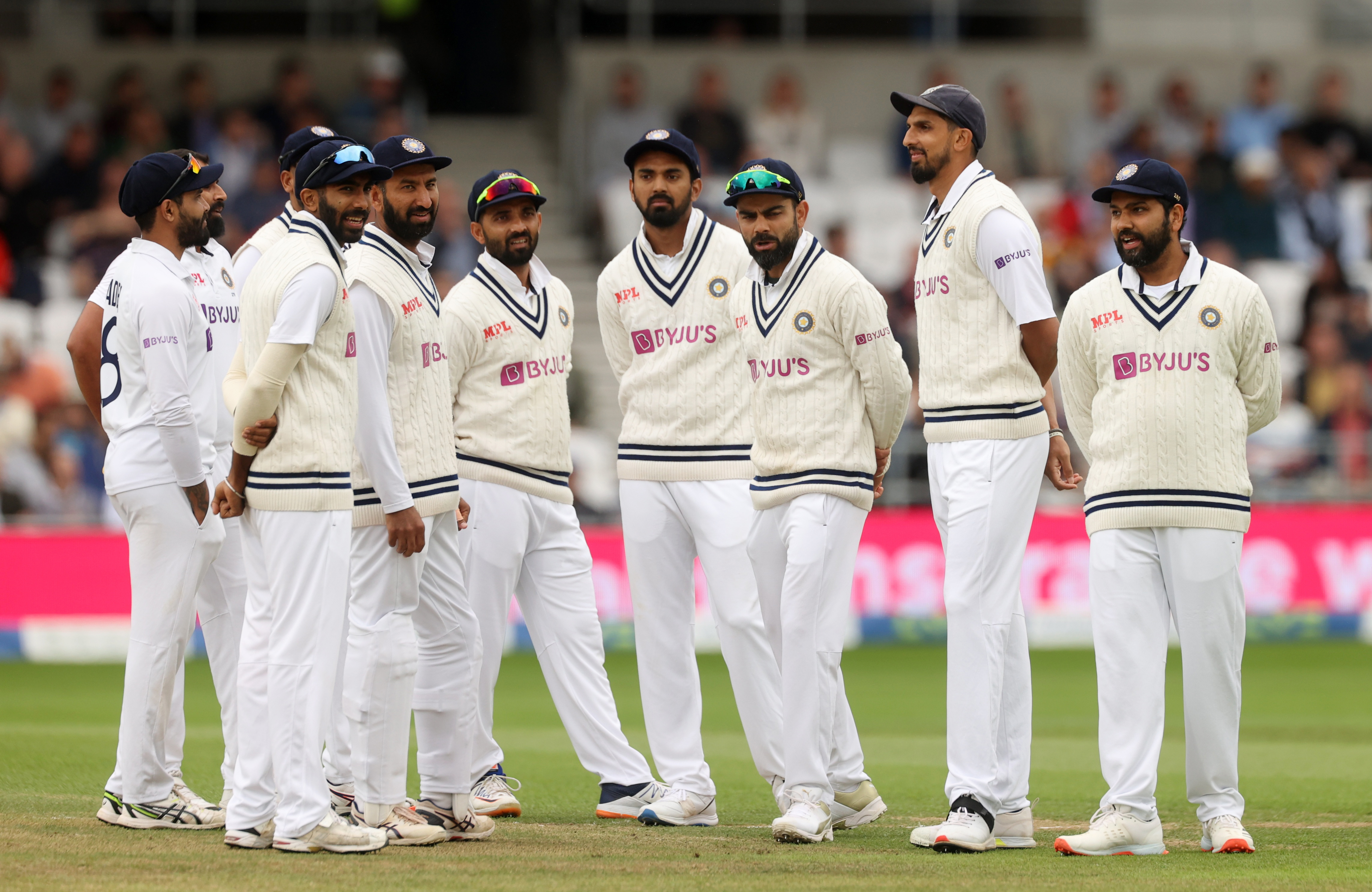 England all out for 432 in Headingley test v India   Reuters