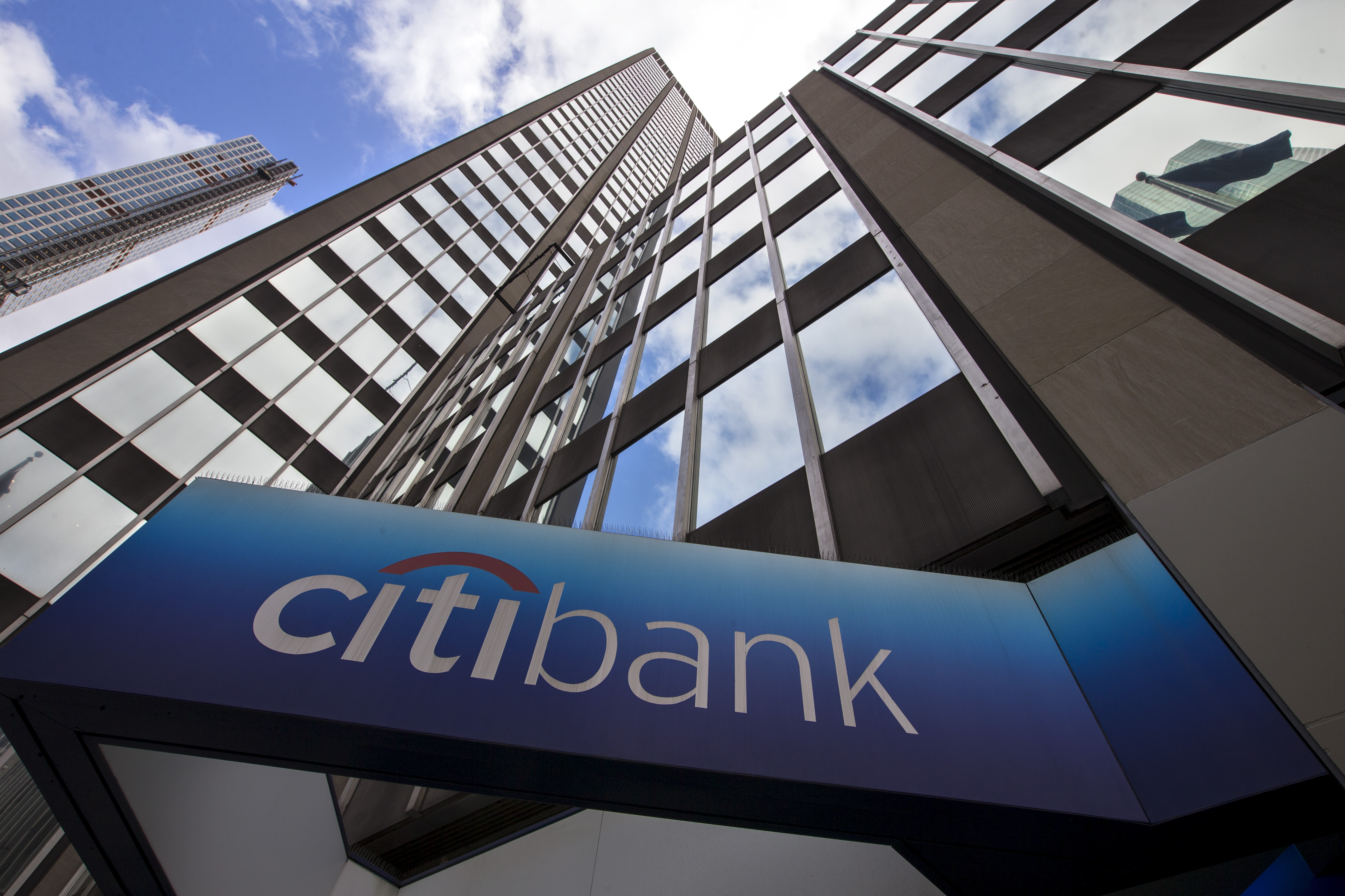 A view of the exterior of the Citibank corporate headquarters in New York, New York, U.S. May 20, 2015.   REUTERS/Mike Segar/File Photo