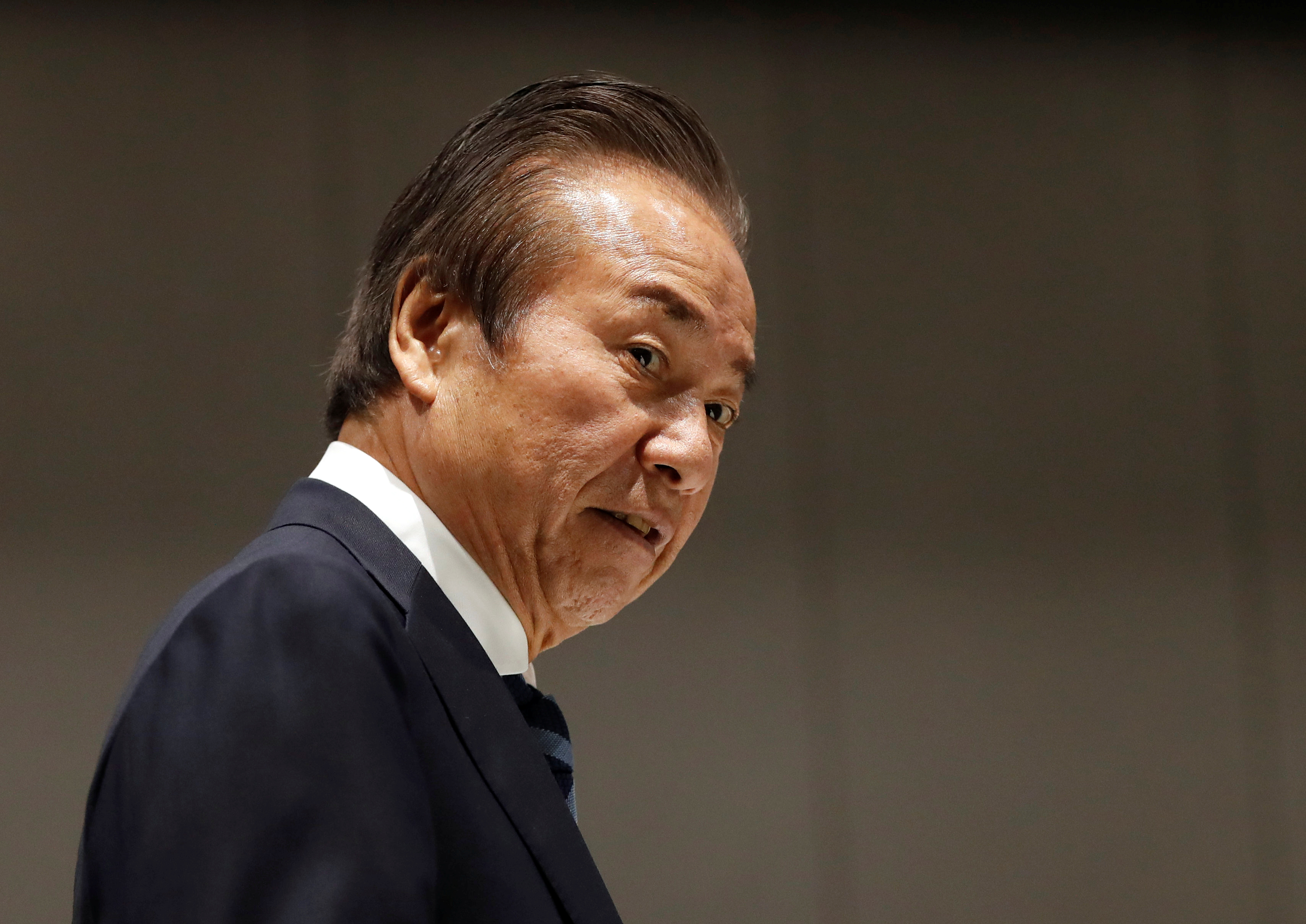 The Tokyo Organising Committee of the Olympic and Paralympic Games (Tokyo 2020) Executive Board member Haruyuki Takahashi arrives at Tokyo 2020 Executive Board Meeting in Tokyo, Japan March 30, 2020.  REUTERS/Issei Kato/Pool