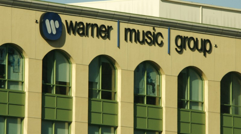 The headquarters of Warner Music Group is pictured in Burbank, California. REUTERS/Fred Prouser