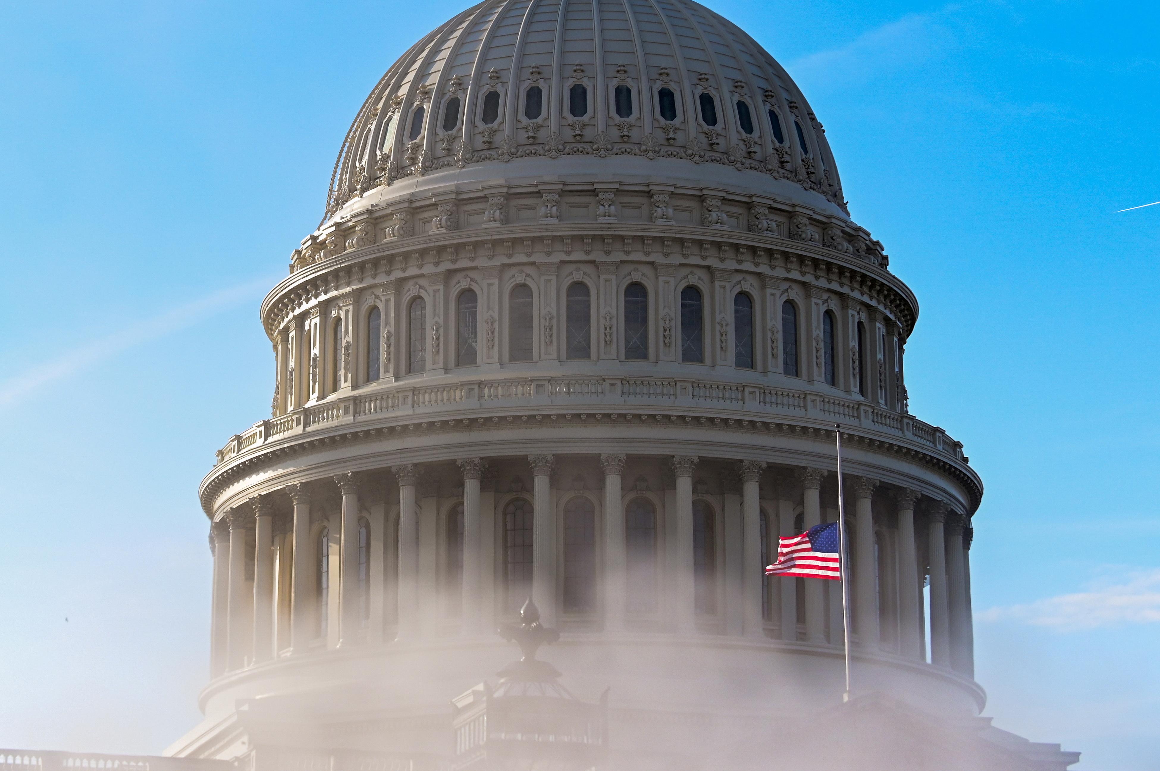 The U.S. Capitol dome. REUTERS/Erin Scott