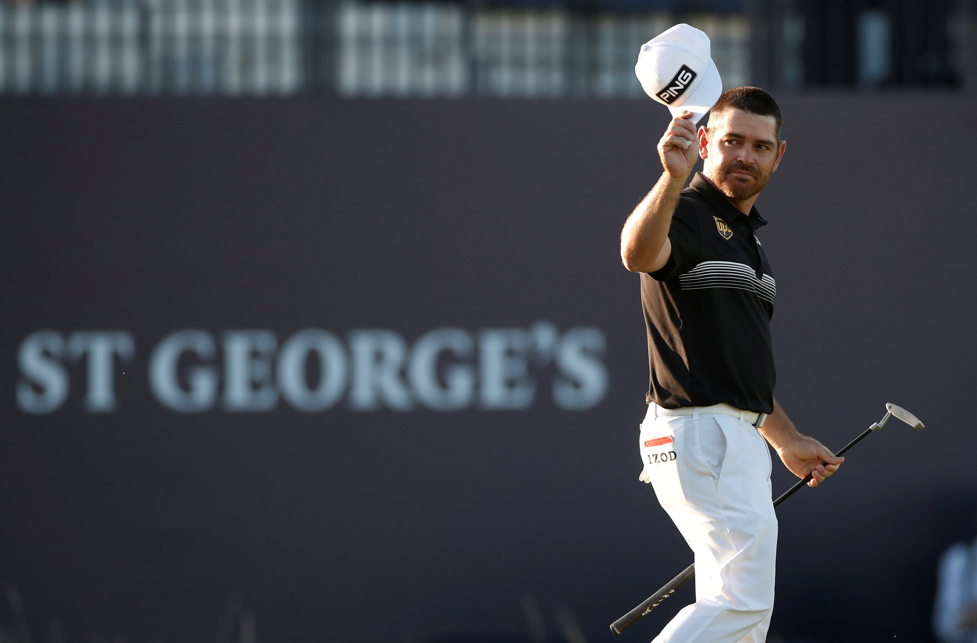 Golf - The 149th Open Championship - Royal St George's, Sandwich, Britain - July 16, 2021 South Africa's Louis Oosthuizen during the second round REUTERS/Paul Childs
