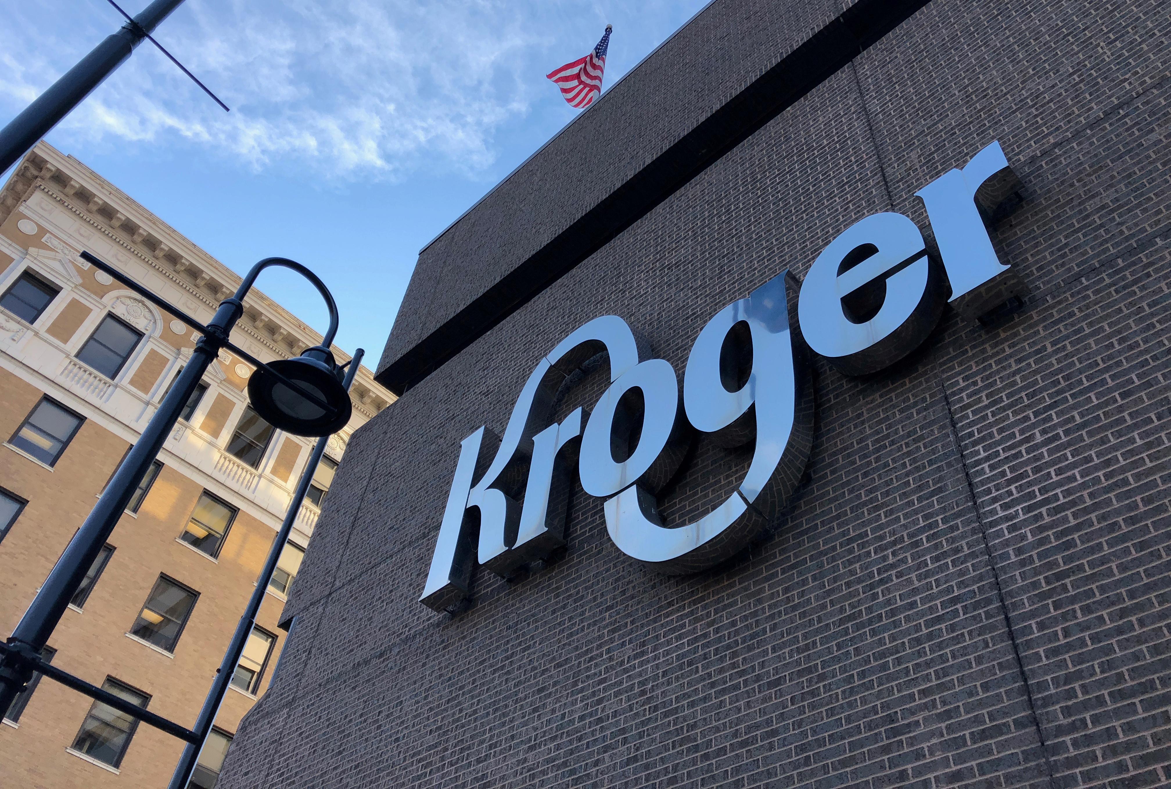 The Kroger supermarket chain's headquarters is shown in Cincinnati, Ohio, U.S., June 28, 2018.   REUTERS/Lisa Baertlein