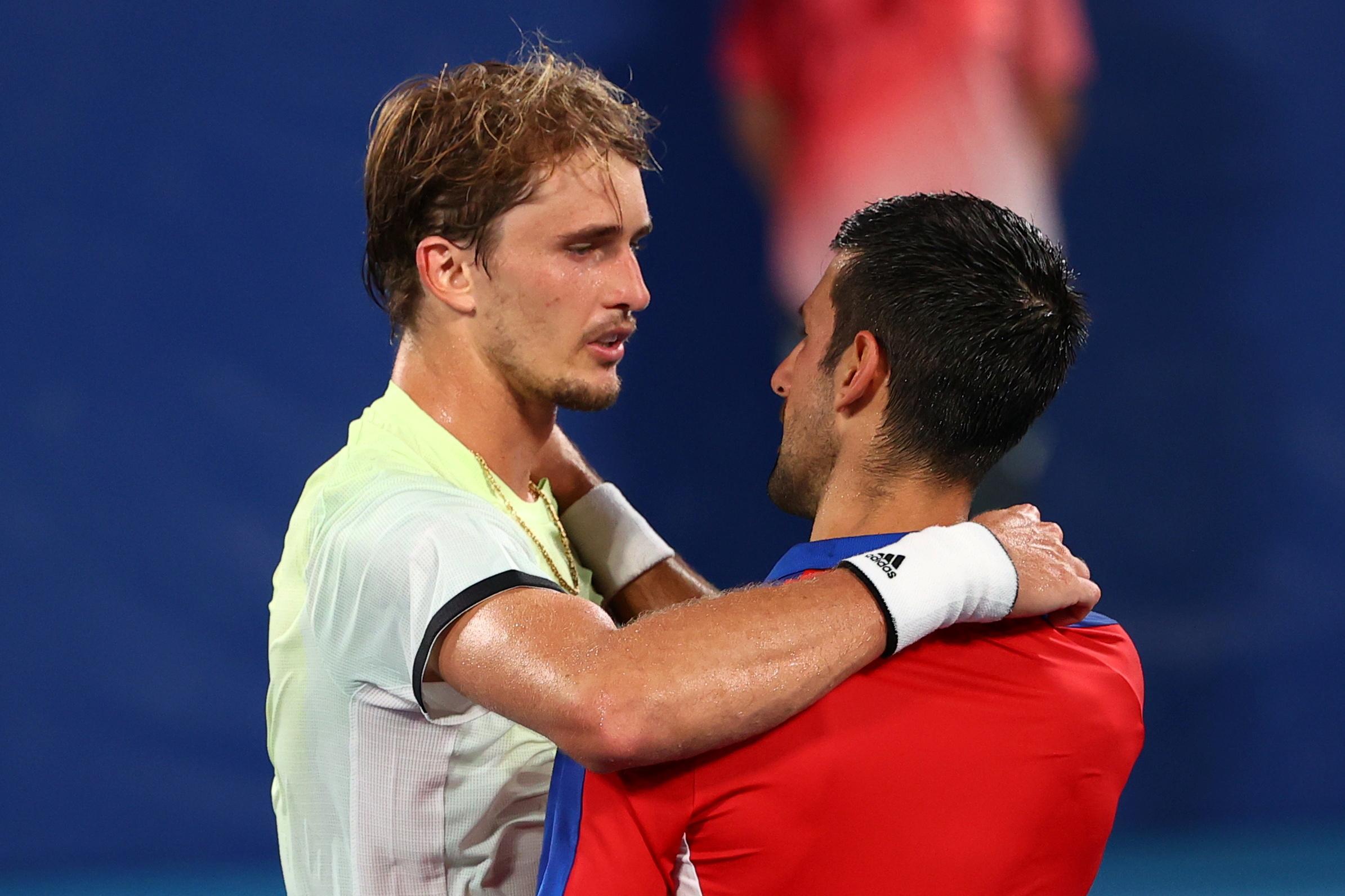 Tennis-Djokovic's Golden Slam dreams dashed by Zverev   Reuters