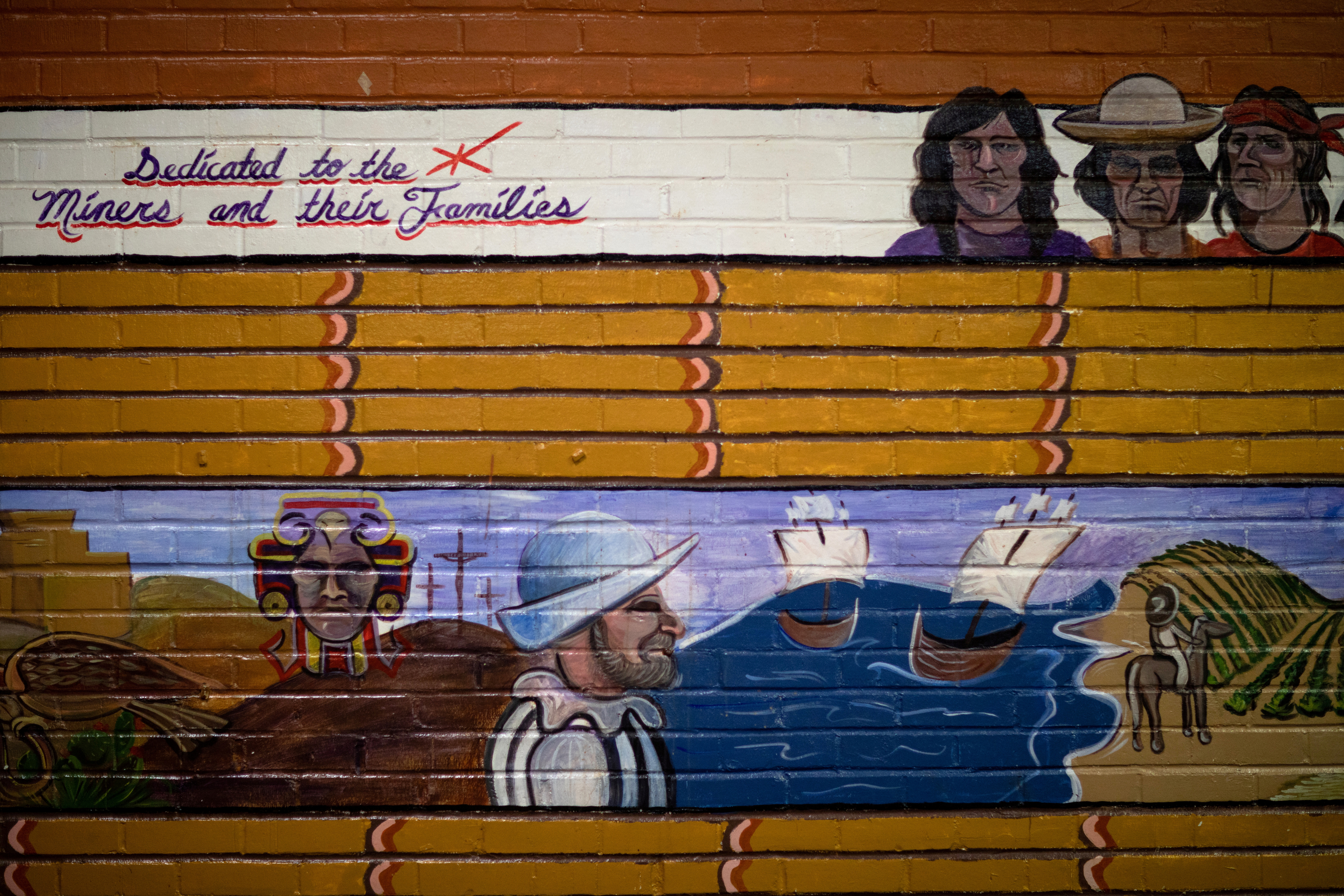 A mural celebrates the history of mining at City Hall in Superior, Arizona, U.S., March 29, 2021.  REUTERS/Caitlin O'Hara/File Photo