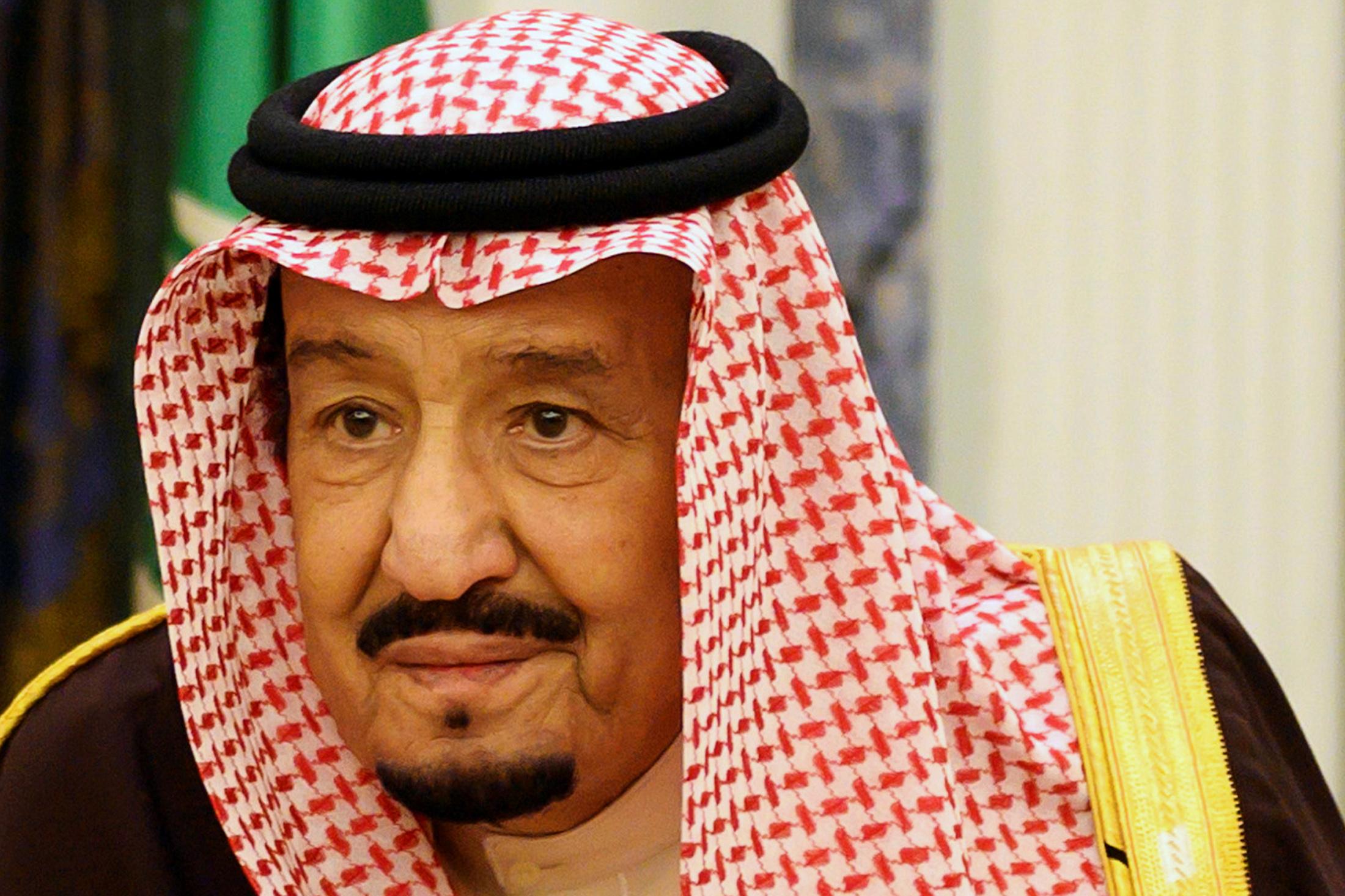 Saudi Arabia's King Salman bin Abdulaziz meets with U.S. Secretary of State Mike Pompeo (not pictured) in Riyadh, Saudi Arabia January 14, 2019. Andrew Caballero-Reynolds/Pool via REUTERS/File Photo