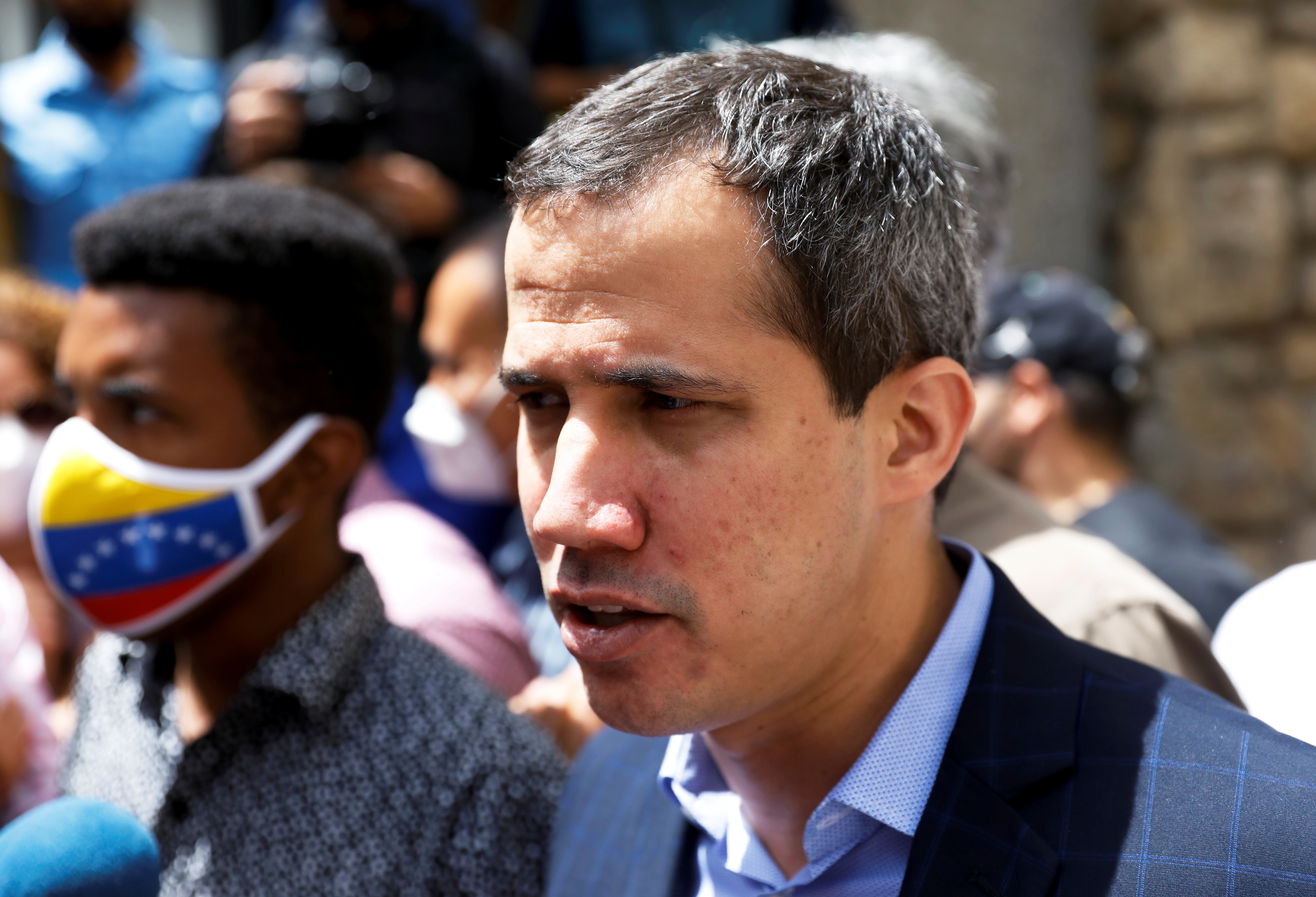 Guaido says Venezuela's access to IMF SDRs to be part of political talks