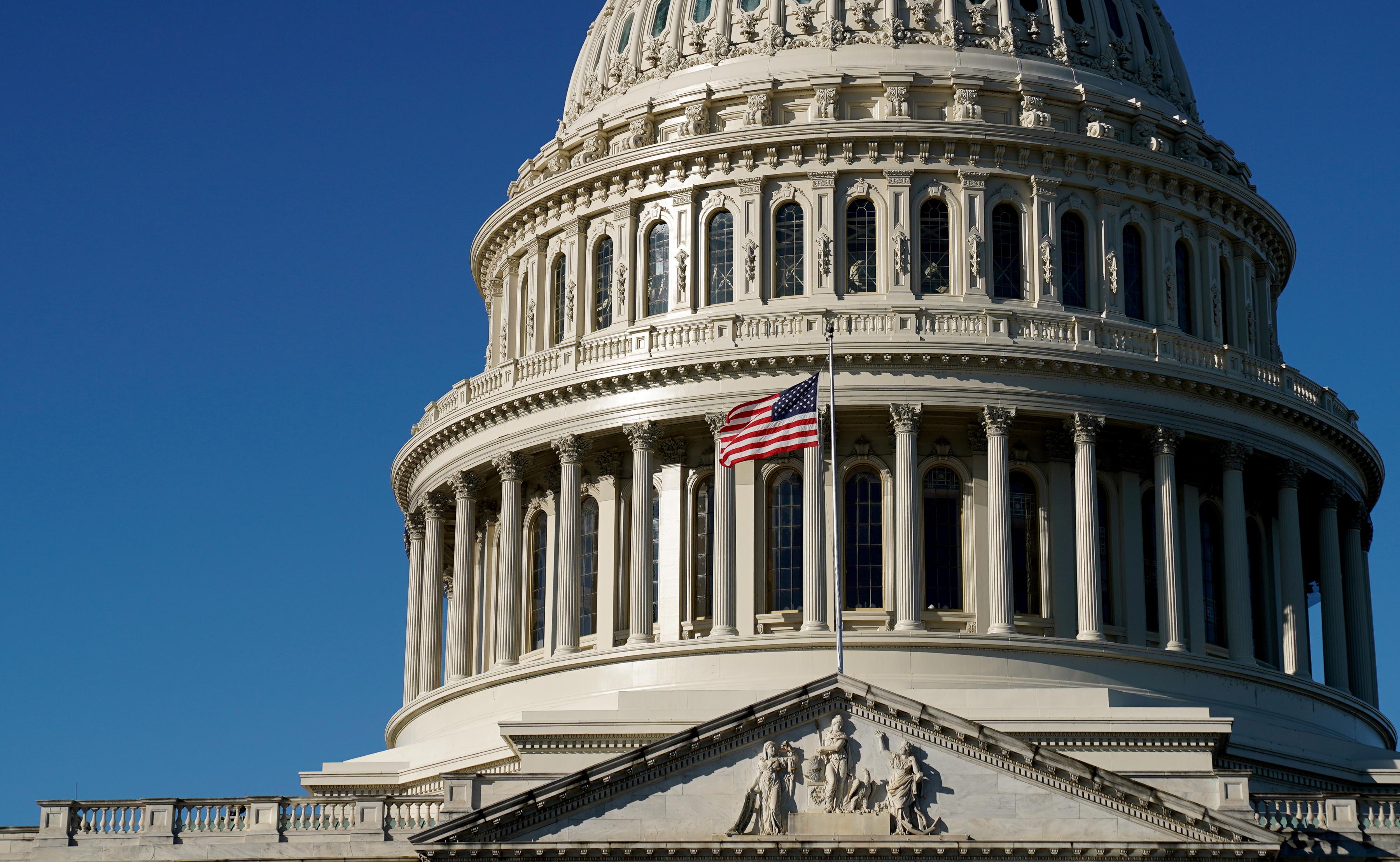 The U.S. Capitol dome is seen in Washington, U.S., December 17, 2020. REUTERS/Erin Scott/File Photo