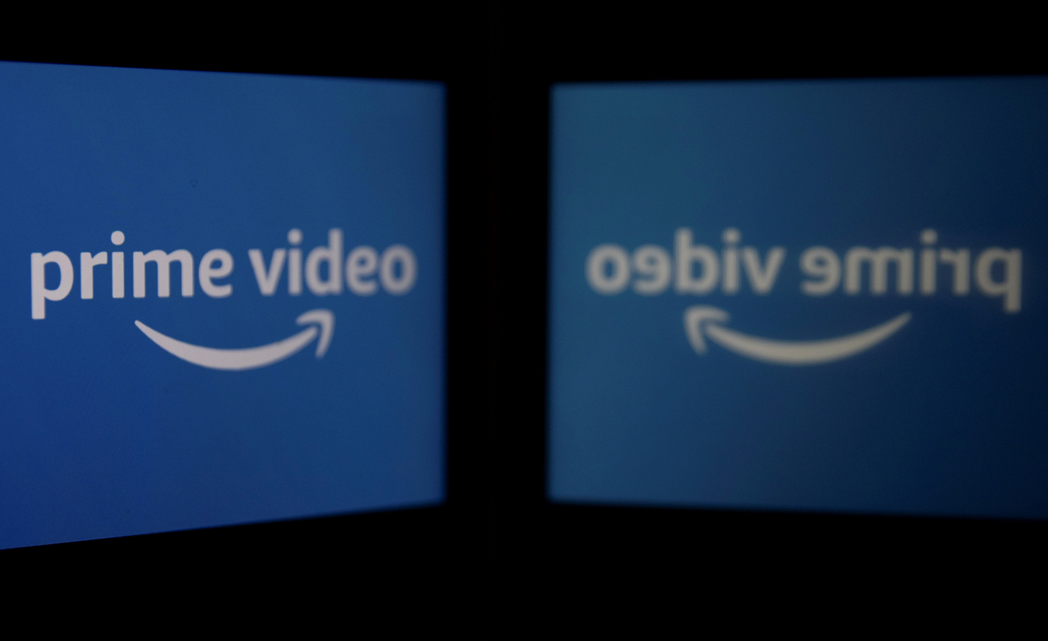 The logo of streaming service Amazon Prime Video is seen in this illustration picture taken March 5, 2021. REUTERS/Danish Siddiqui/Illustration/File Photo