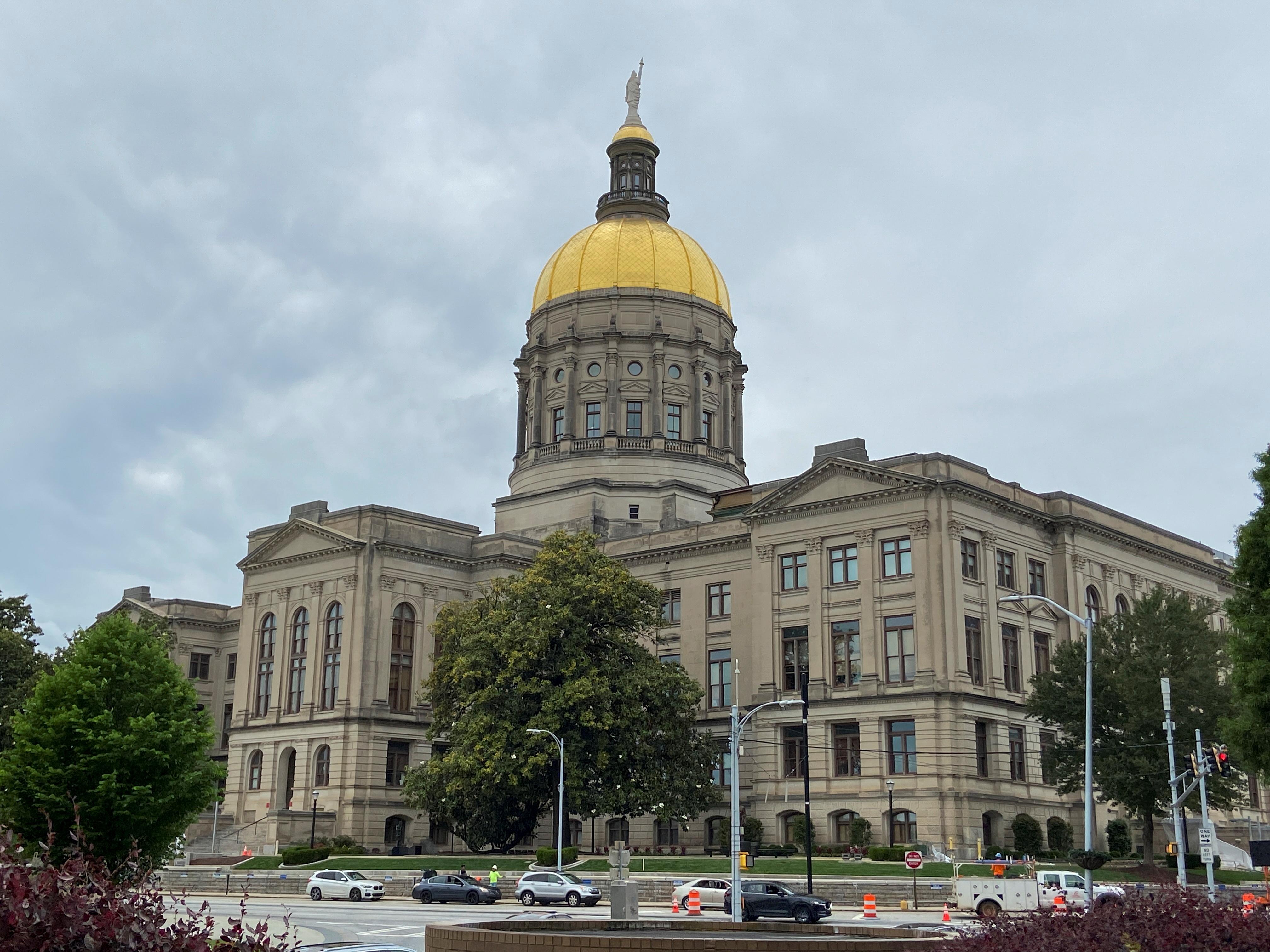 A view of the Georgia State Capitol in Atlanta, Georgia. REUTERS/Linda So