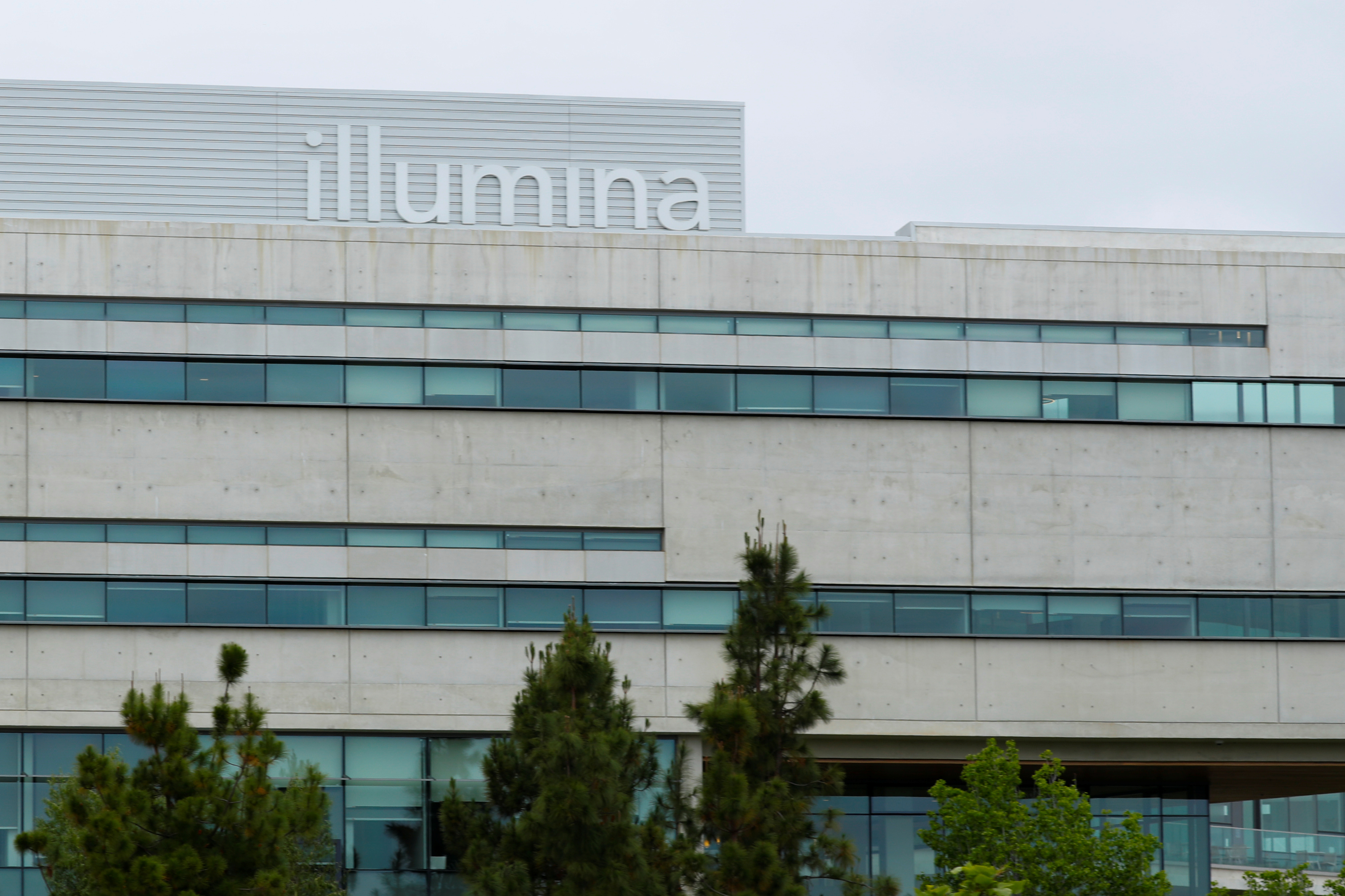 A new office building housing genetic research company Illumina is shown in San Diego, California, U.S., May 30, 2018. REUTERS/Mike Blake
