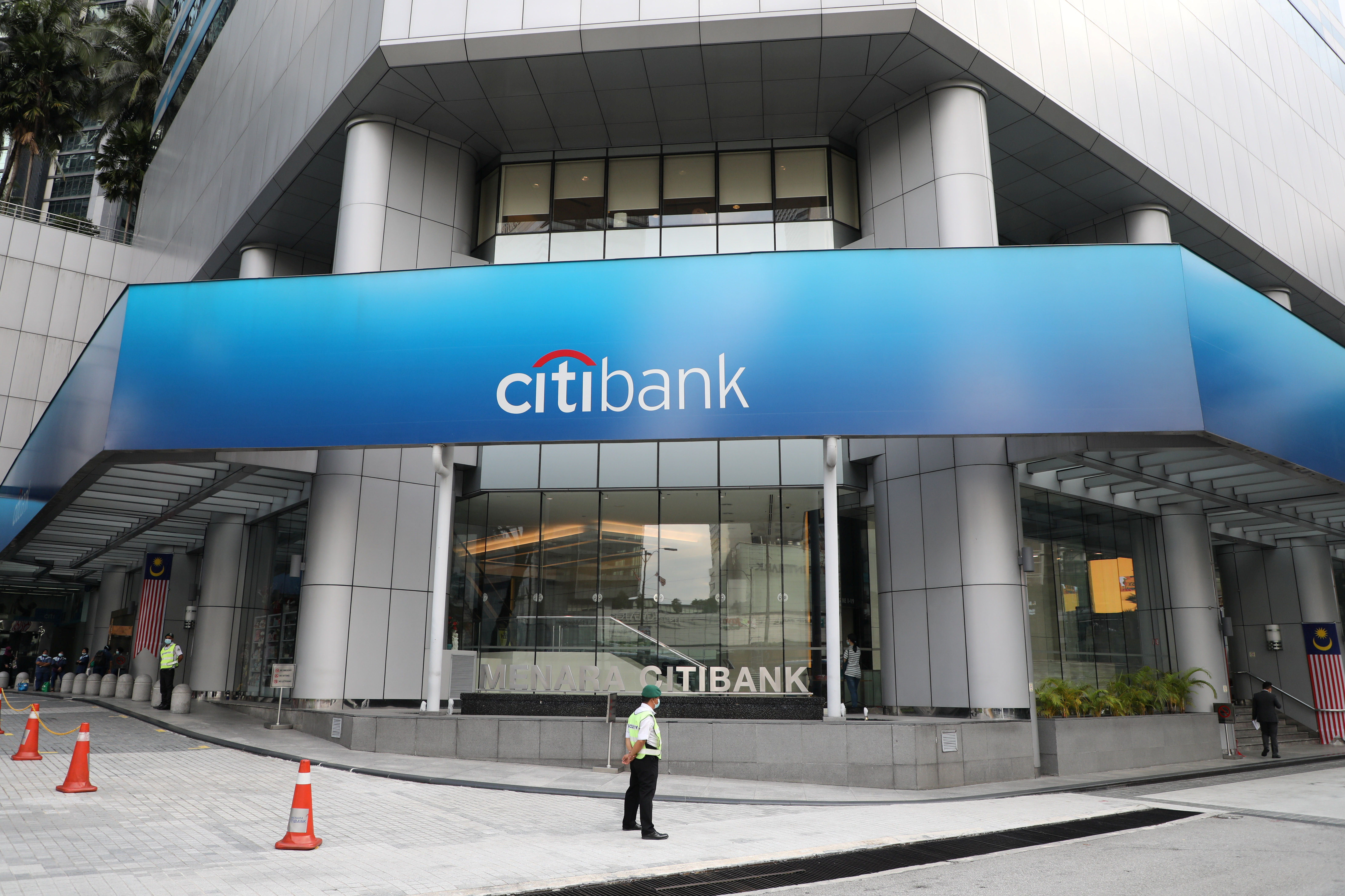A general view of the Citibank headquarters in Kuala Lumpur, Malaysia September 15, 2020. REUTERS/Lim Huey Teng