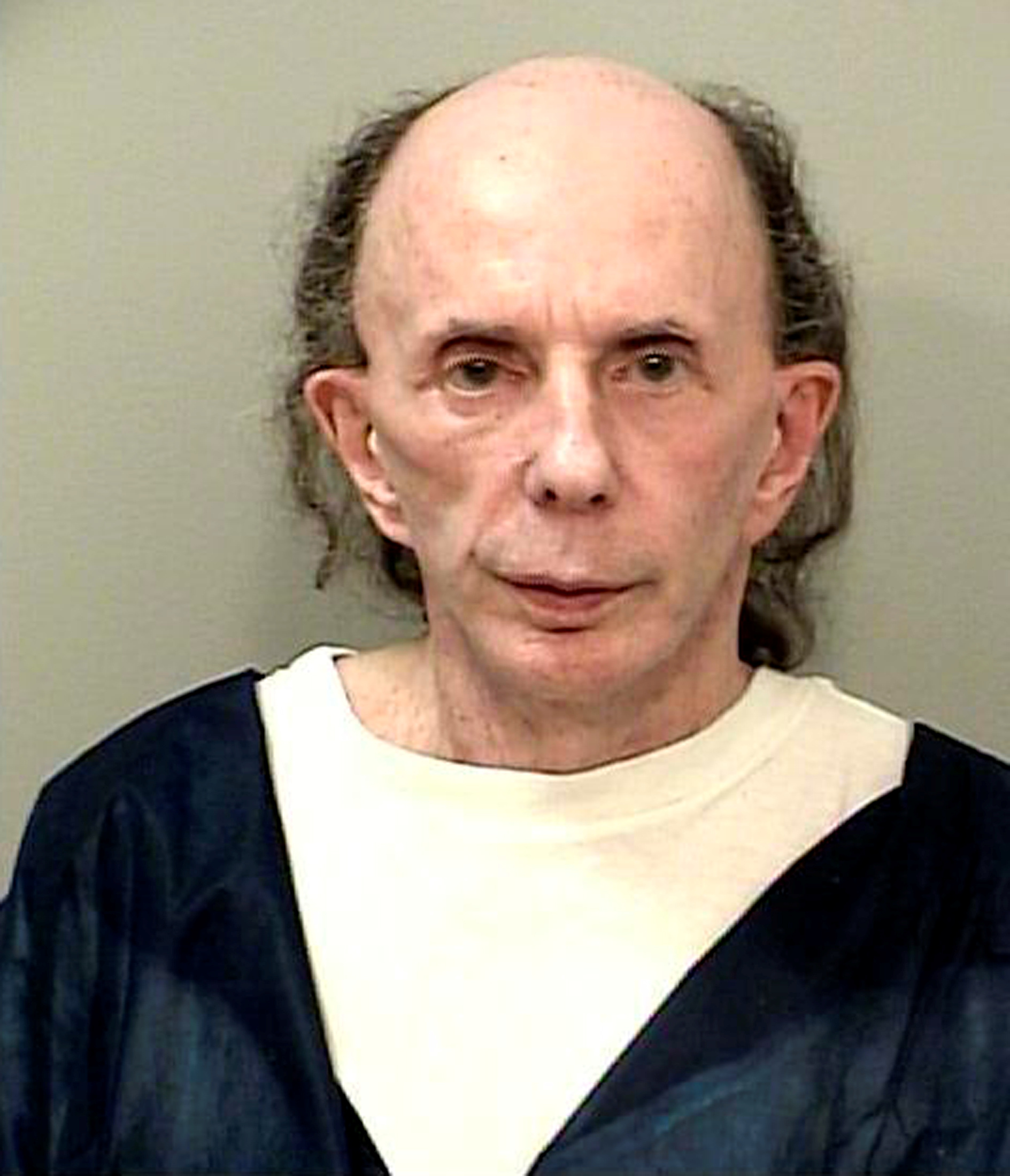 Music legend Phil Spector is seen in a picture taken October 28, 2013 released by the California Department of Corrections and Rehabilitation in Stockton, California.  REUTERS/California Department of Corrections and Rehabilitation/Handout via Reuters
