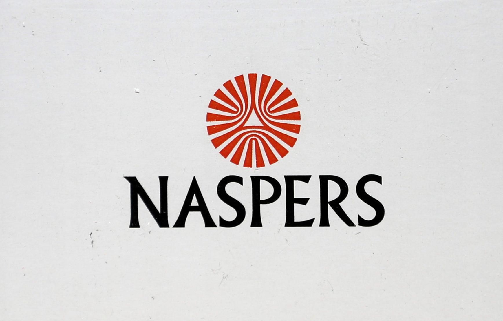Naspers logo is seen in Johannesburg, South Africa, October 9, 2019. REUTERS/Siphiwe Sibeko