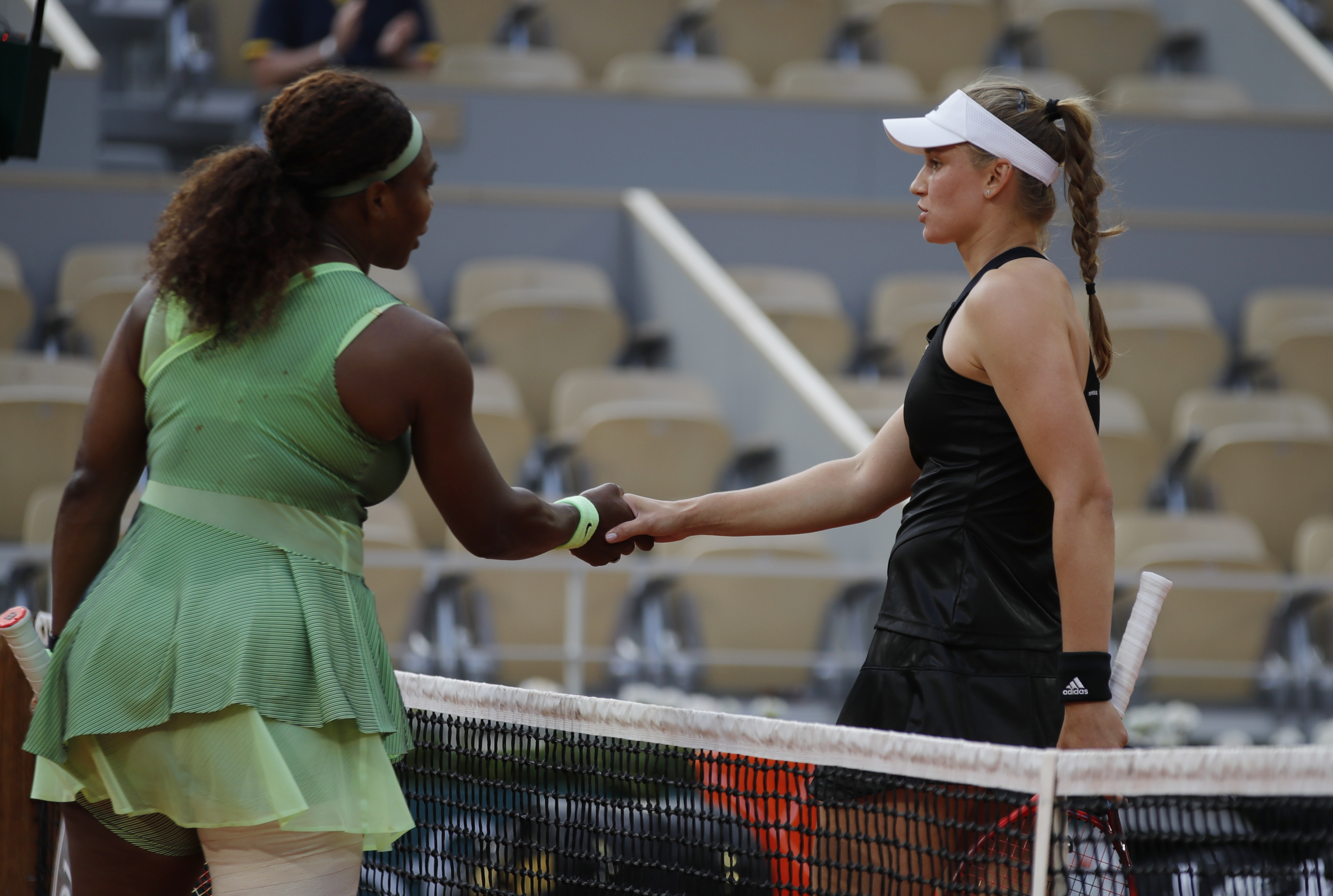 Williams Out of French Open After Fourth Round Defeat to Rybakina