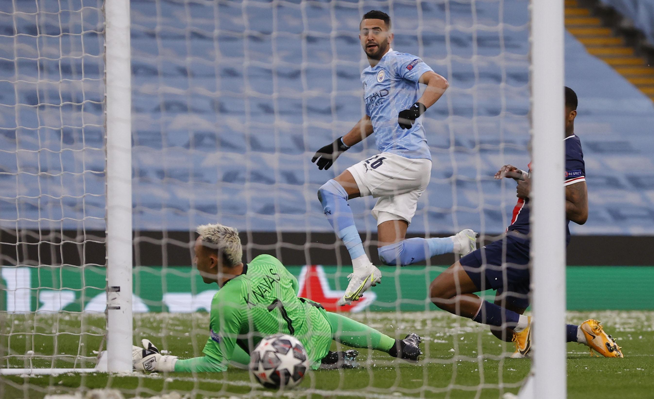 Mahrez Double Fires Man City Into Champions League Final Reuters