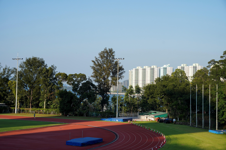 Grounds of the Chinese University of Hong Kong (CUHK) is seen in Hong Kong, China, May 8, 2021. REUTERS/Lam Yik