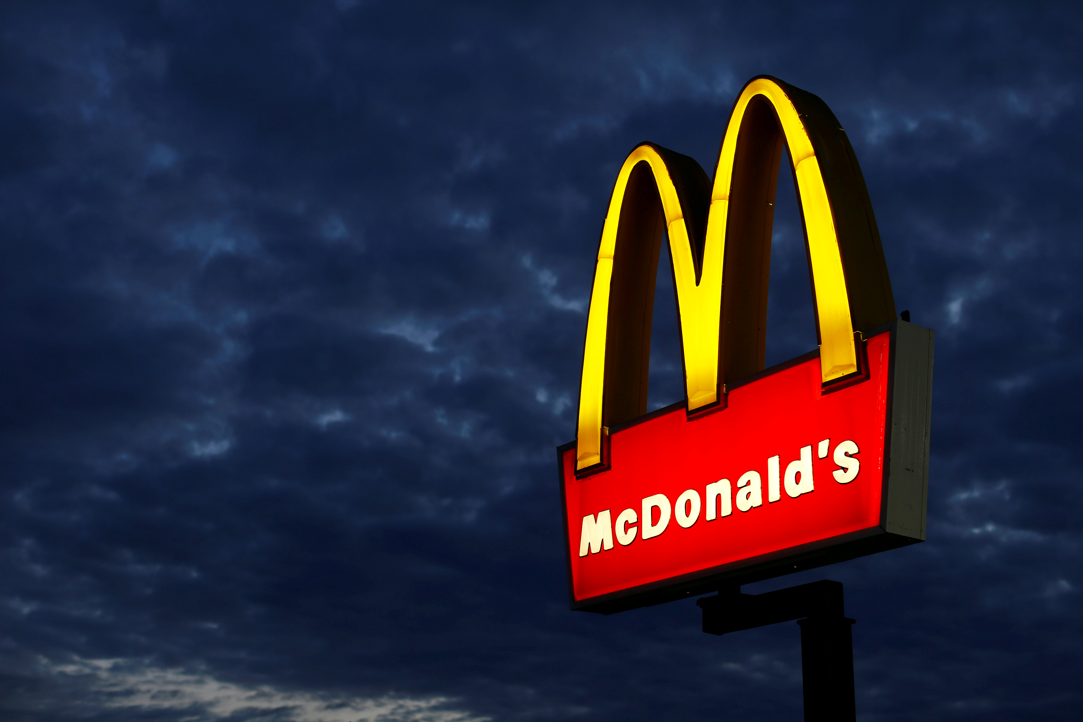 A McDonald's restaurant is pictured in Encinitas, California September 9, 2014.REUTERS/Mike Blake/File Photo