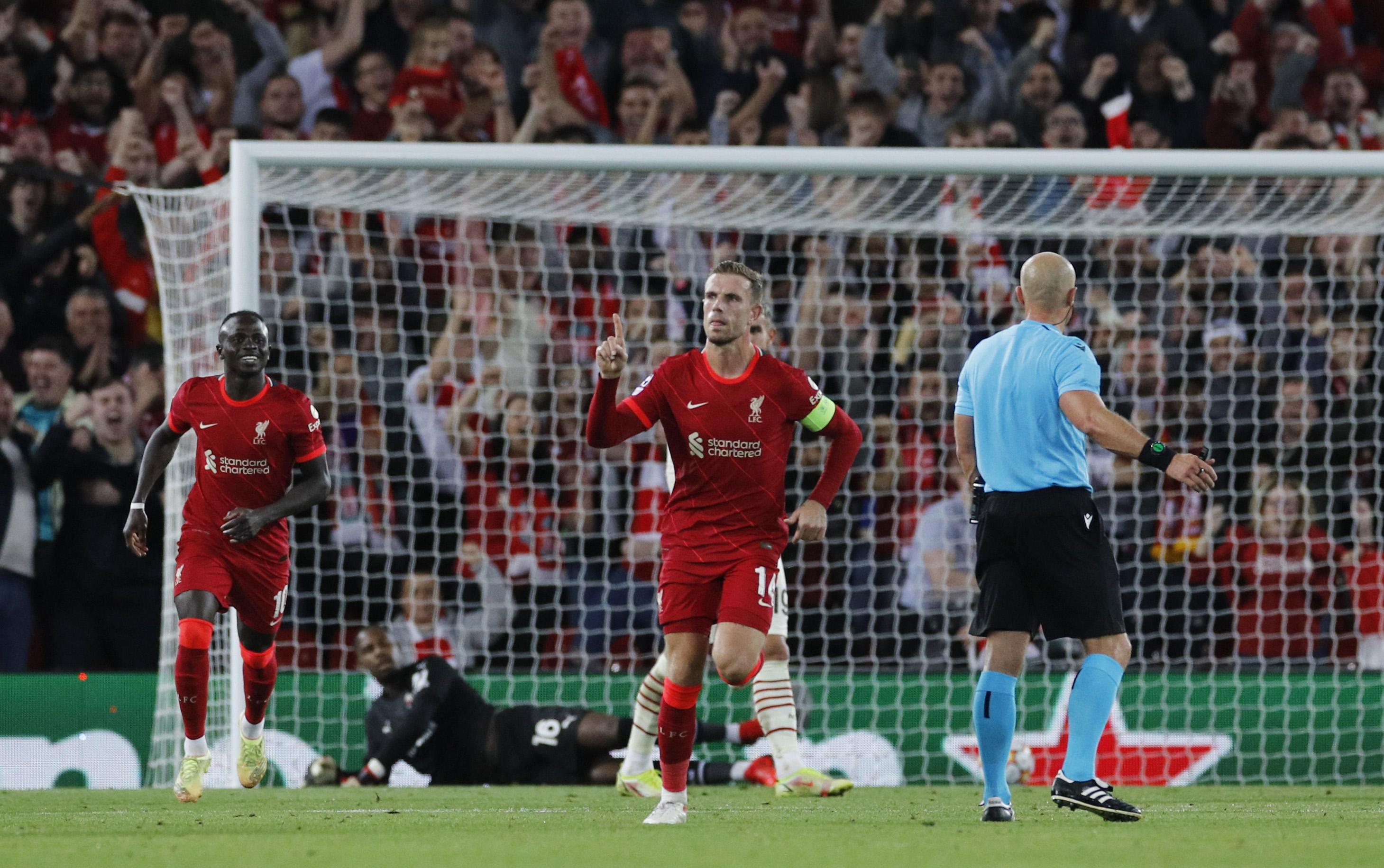 Henderson fires winner as Liverpool beat Milan in thriller   Reuters