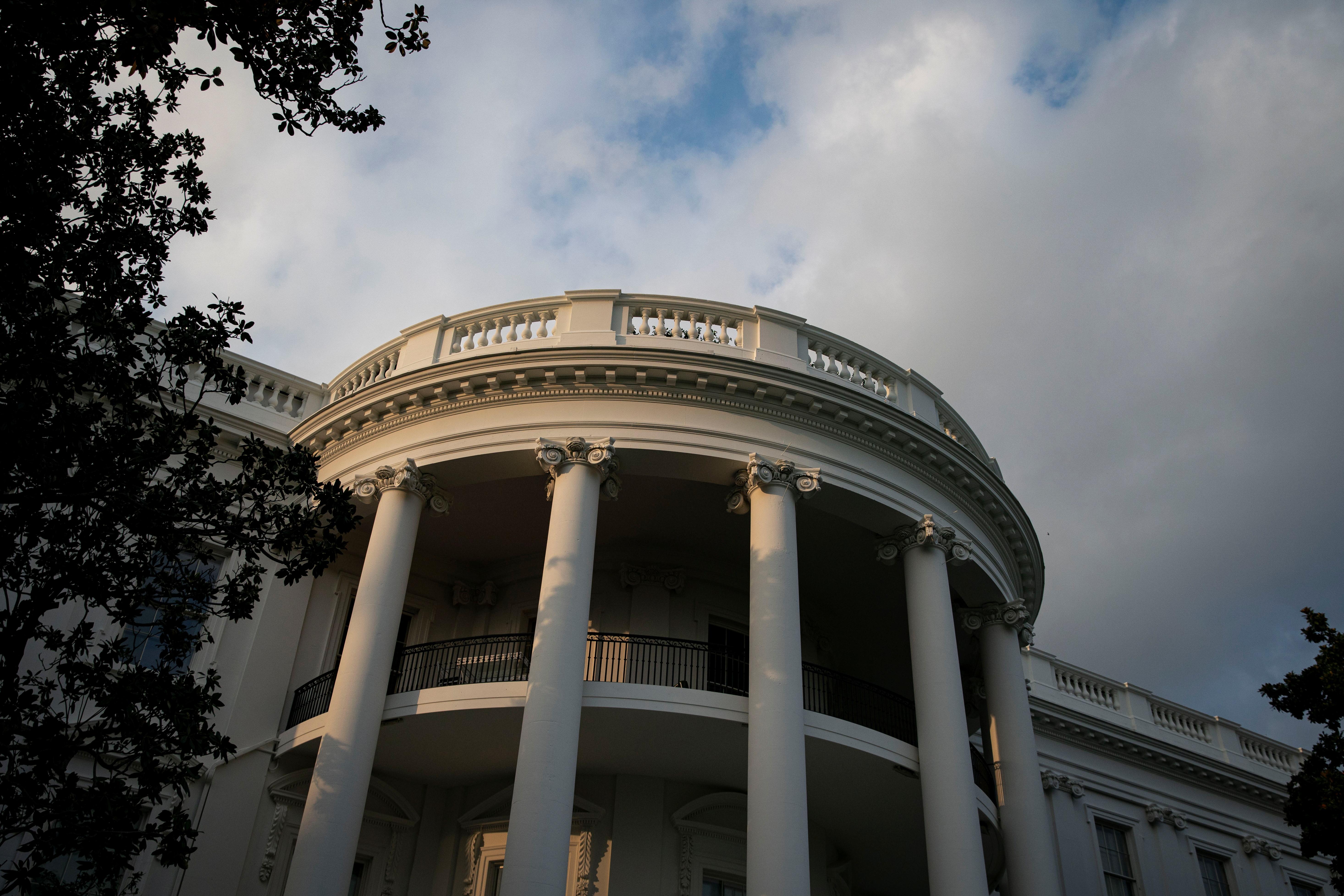 The White House in Washington, U.S., August 29, 2021. REUTERS/Al Drago