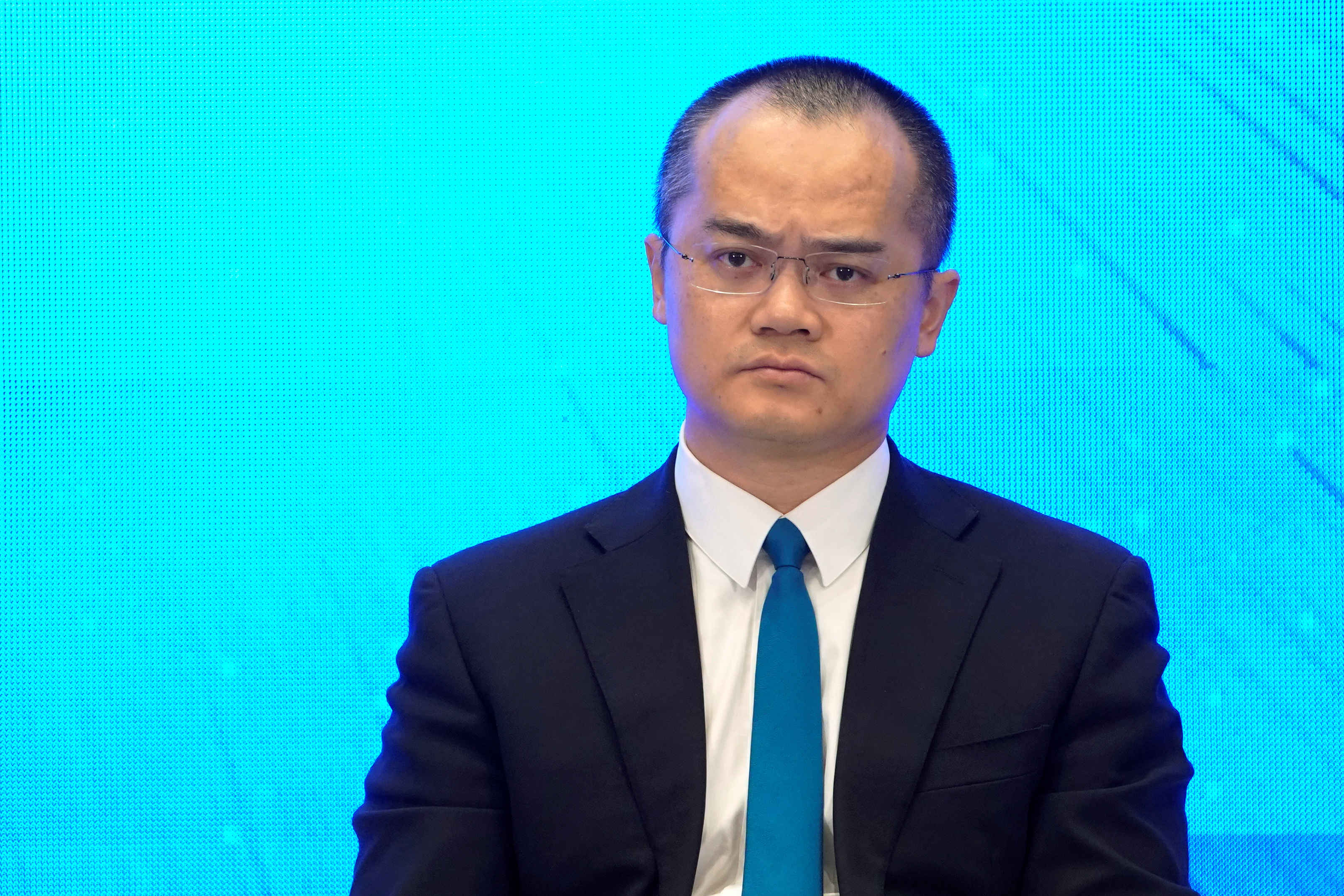 Wang Xing, CEO of Meituan-Dianping attends at the World Internet Conference (WIC) in Wuzhen, Zhejiang province, China, October 20, 2019. REUTERS/Aly Song