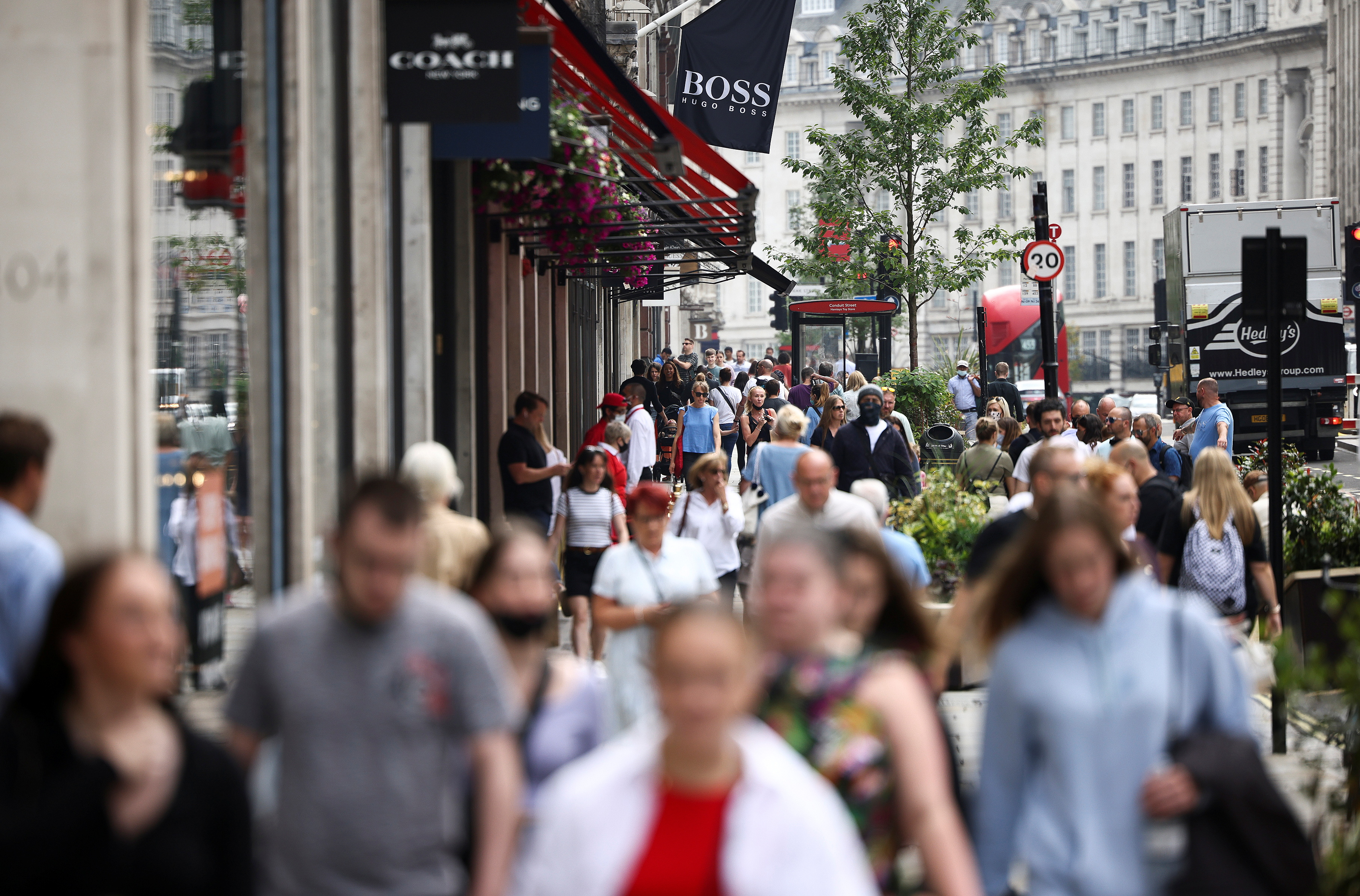 IMF lifts UK growth forecast for 2021, cautious about longer term