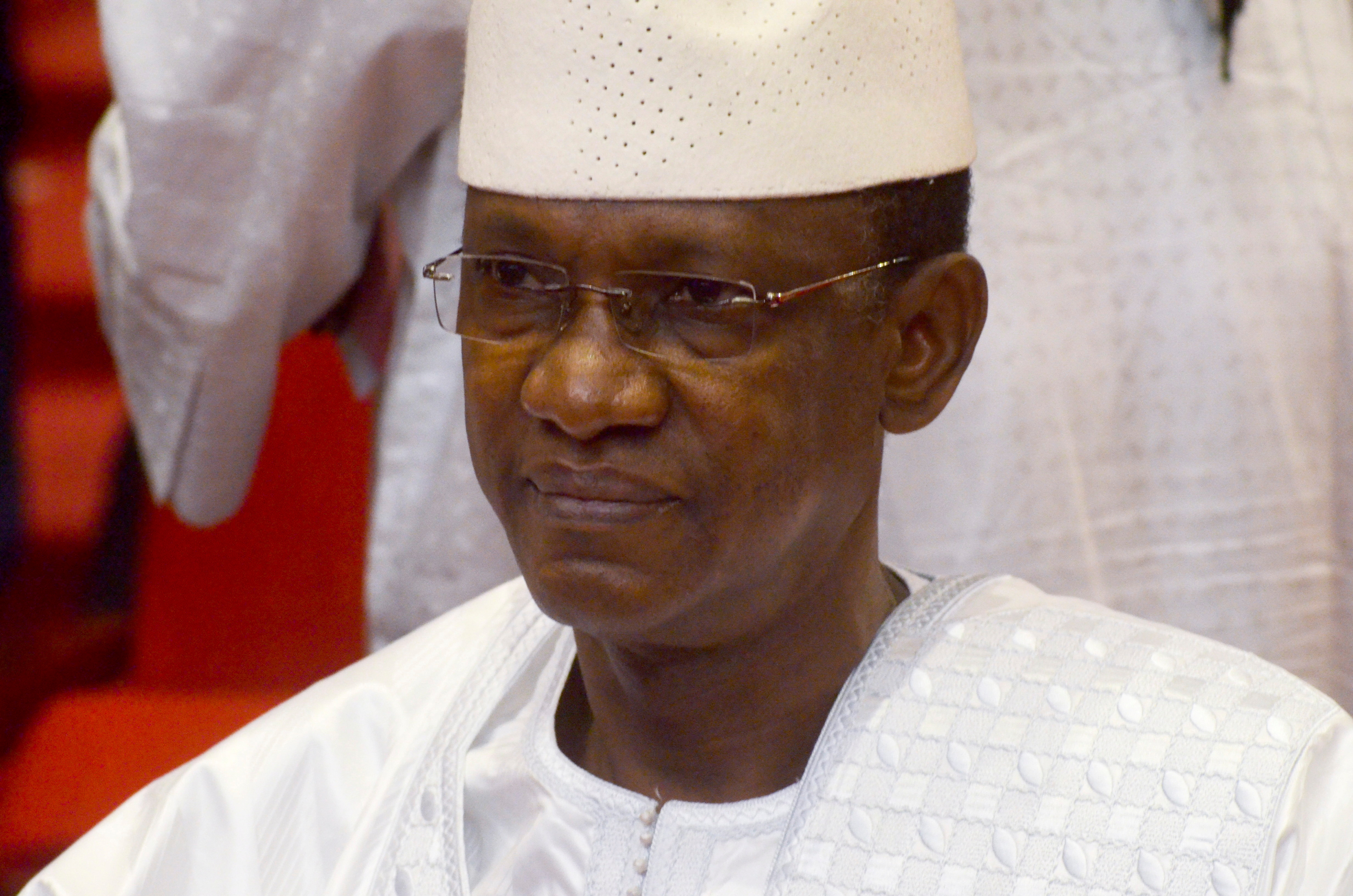Malian opposition leader Choguel Maiga named transitional prime minister attends the inauguration ceremony of Colonel Assimi Goita the new interim president in Bamako, Mali, June 7, 2021. REUTERS/Amadou Keita/File Photo