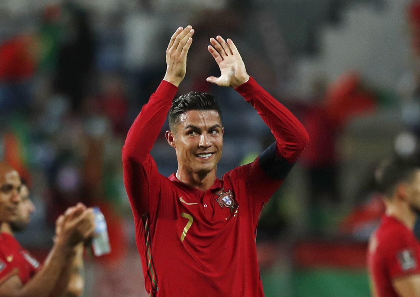 Ronaldo beats record as double sees off Ireland | Reuters