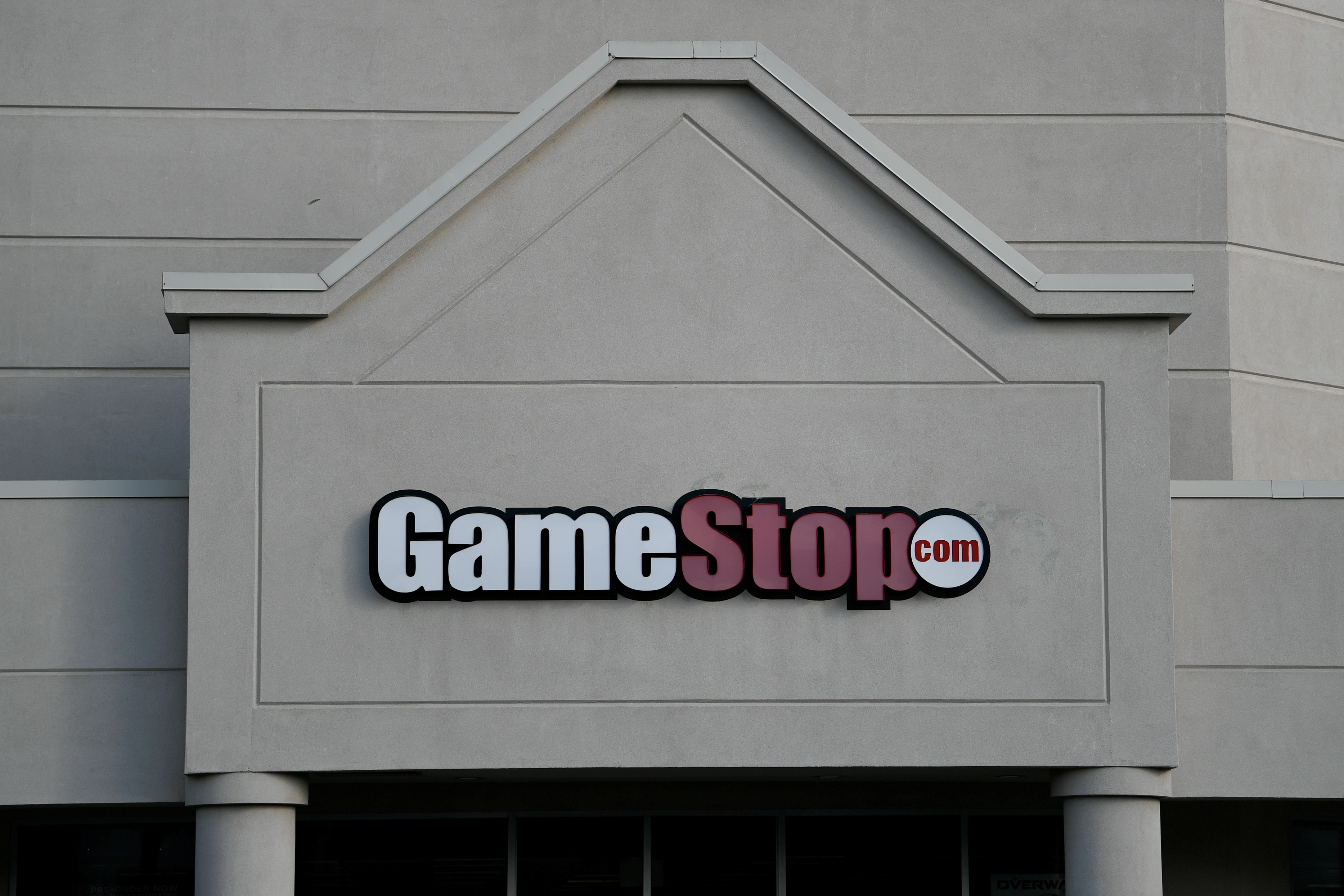 A GameStop store is photographed in Austin, TX, U.S., March 26, 2018. Picture taken on March 26, 2018.  REUTERS/Mohammad Khursheed/File Photo