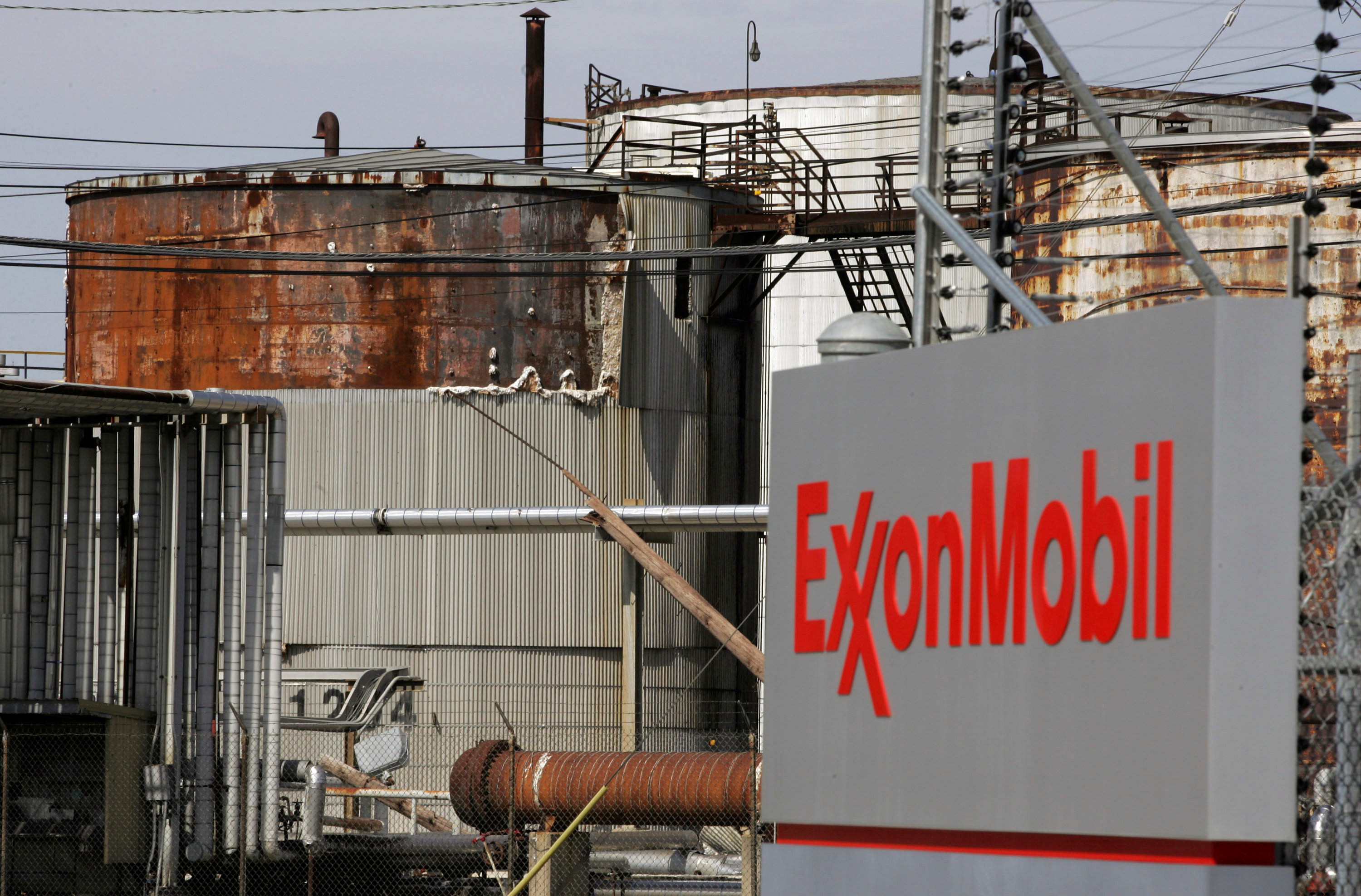A view of the Exxon Mobil refinery in Baytown, Texas September 15, 2008. REUTERS/Jessica Rinaldi/File Photo