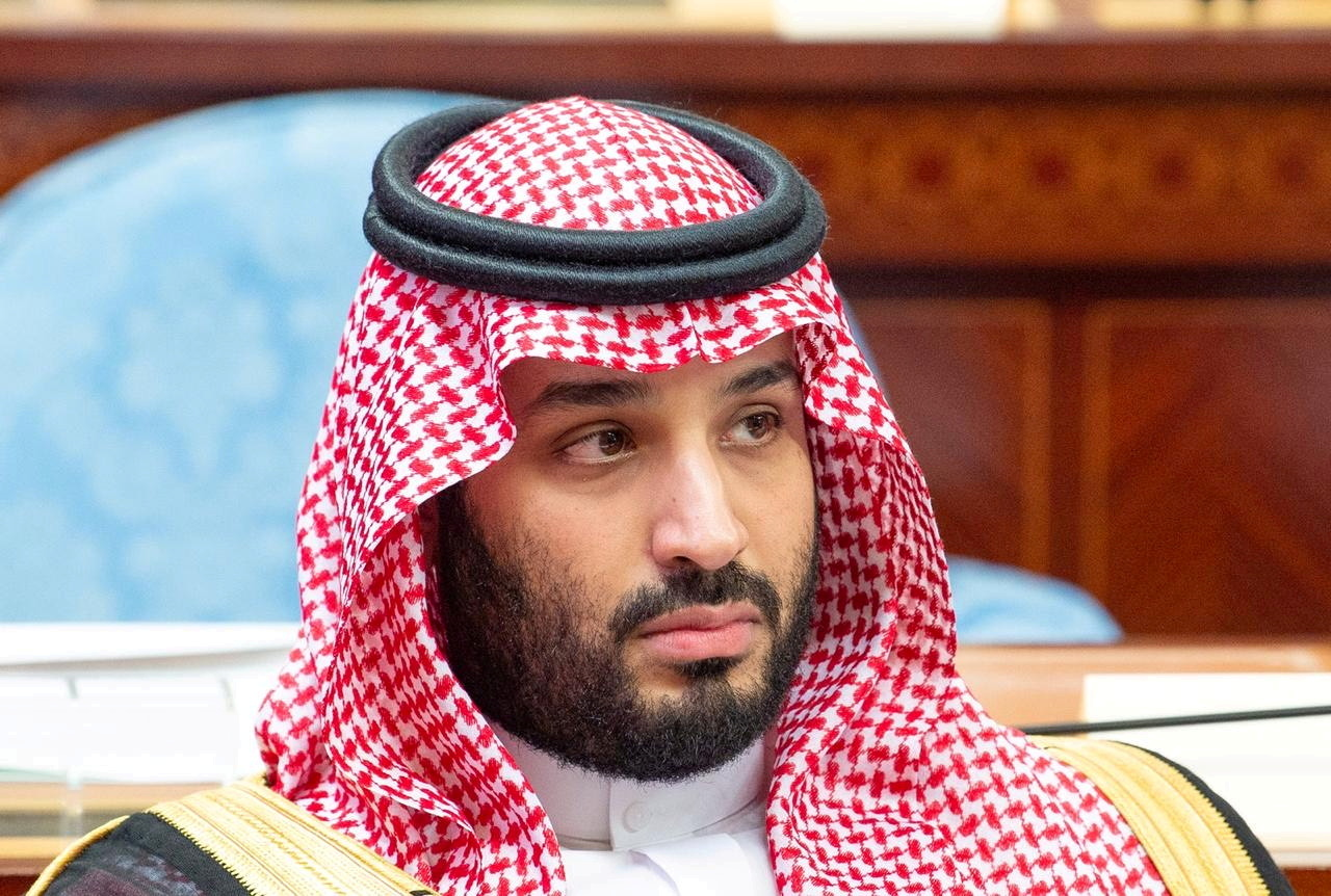 Saudi Crown Prince Mohammed bin Salman attends a session of the Shura Council in Riyadh, Saudi Arabia, November 20, 2019. Bandar Algaloud/Courtesy of Saudi Royal Court/Handout via REUTERS