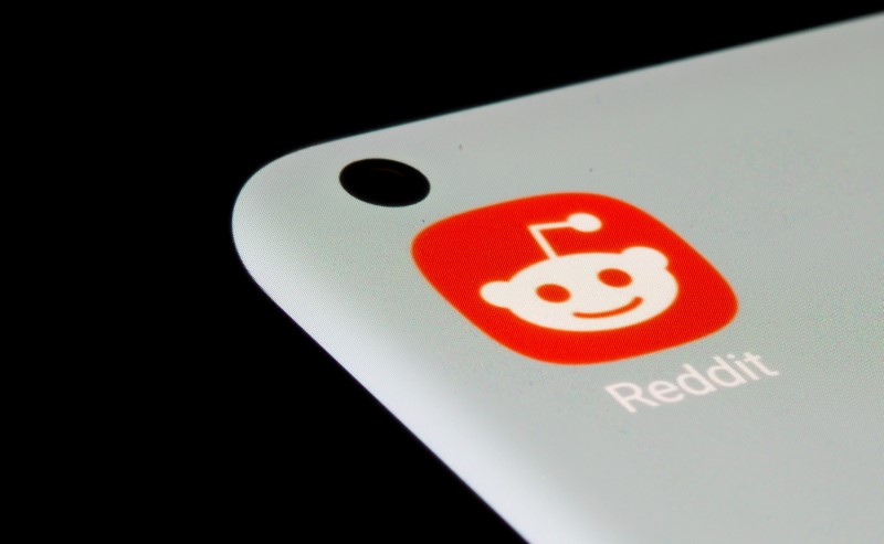 Reddit app is seen on a smartphone in this illustration taken, July 13, 2021. REUTERS/Dado Ruvic/Illustration