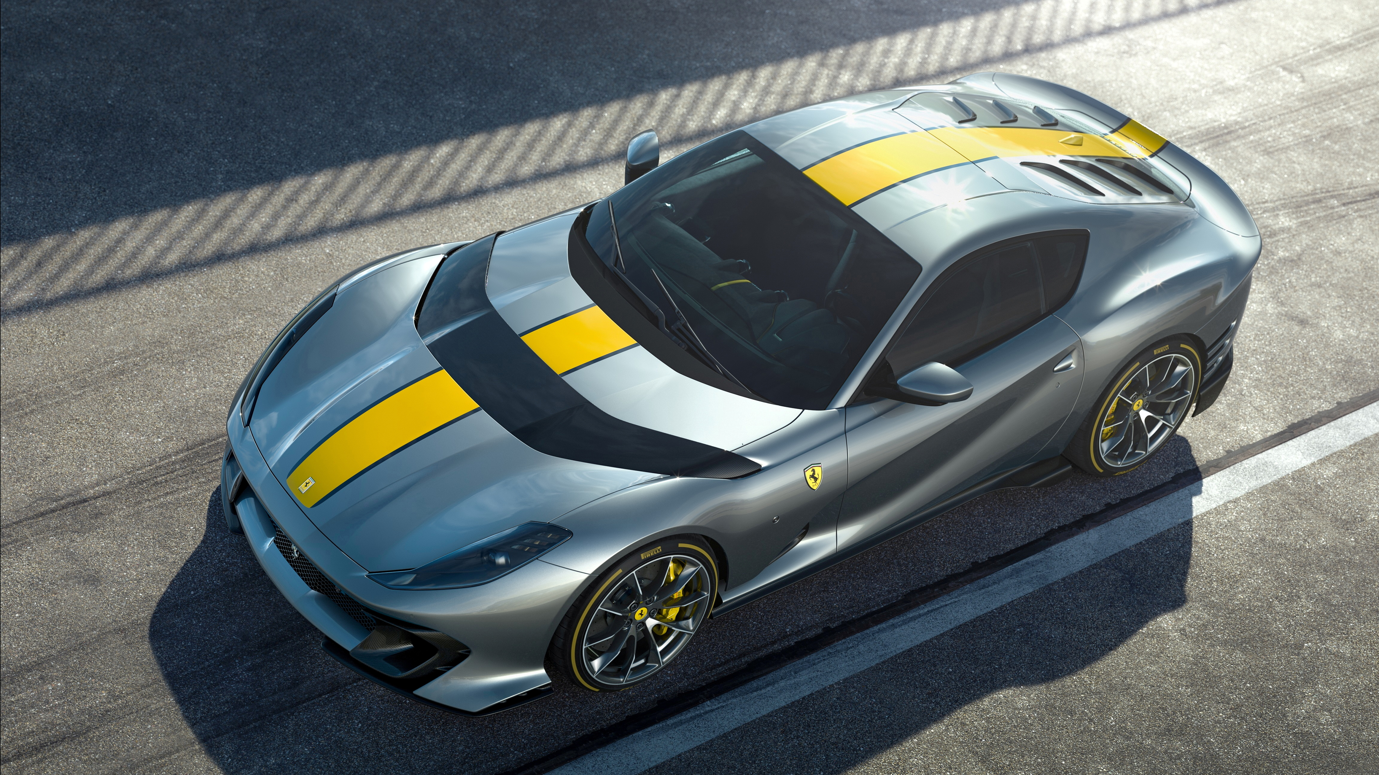 Ferrari's latest limited-edition special series is seen in this handout photo obtained by Reuters on April, 21, 2021. Ferrari/Handout via REUTERS