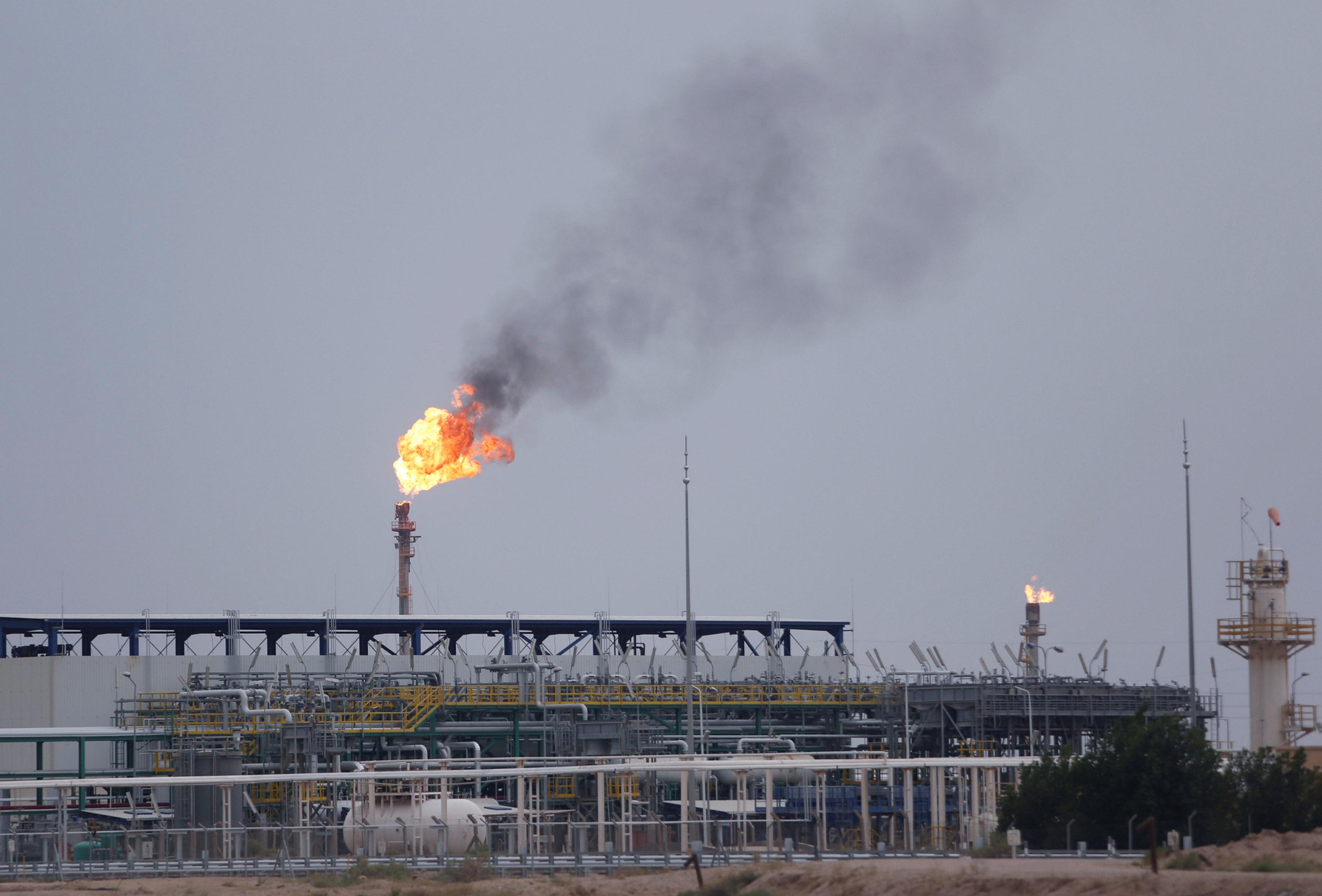 General view of al-Zubair oil field near Basra, Iraq April 21, 2020. REUTERS/Essam Al-Sudani