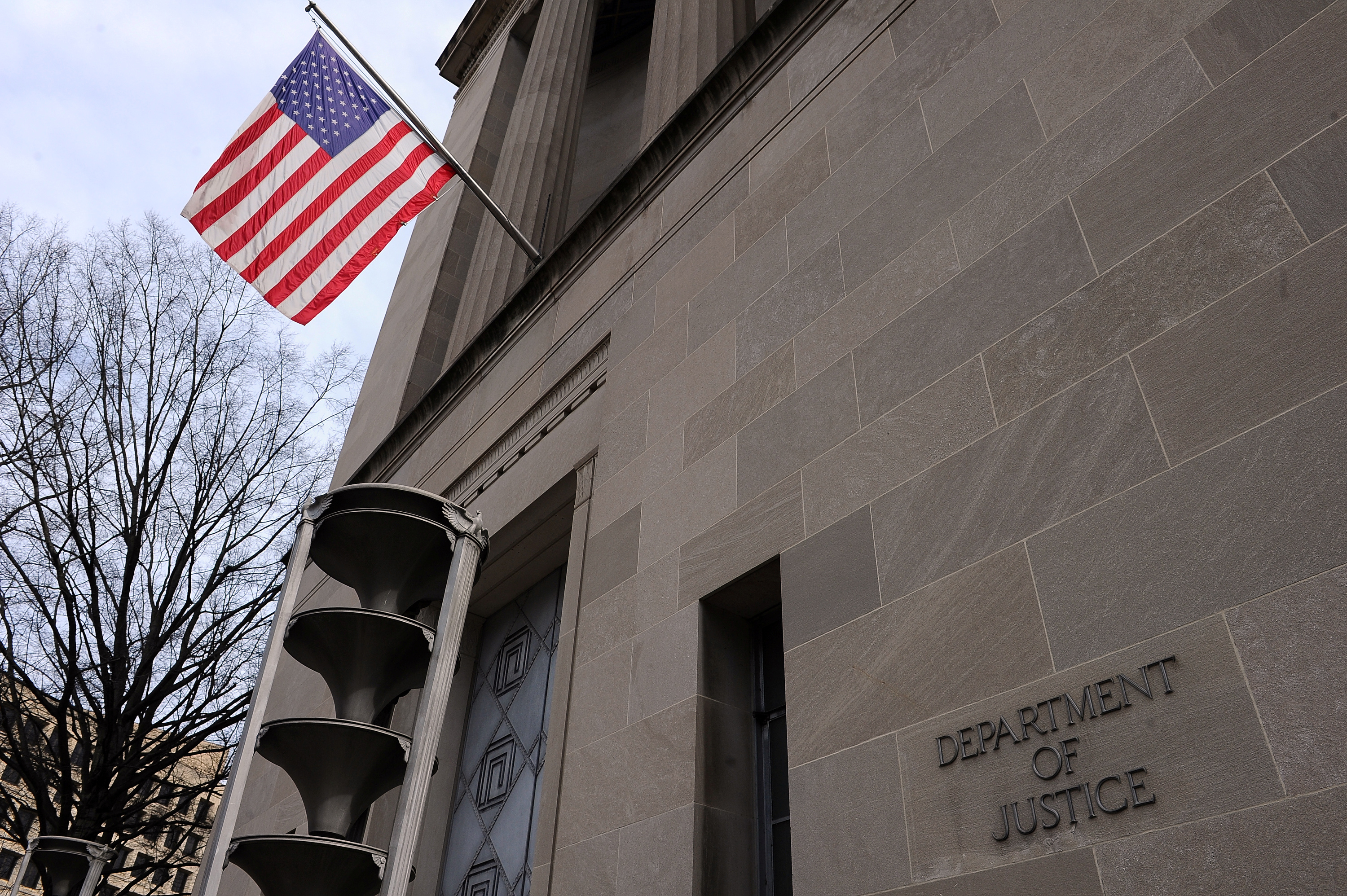 General view of the Robert F. Kennedy Department of Justice Building in Washington, U.S., March 10, 2019. REUTERS/Mary F. Calvert