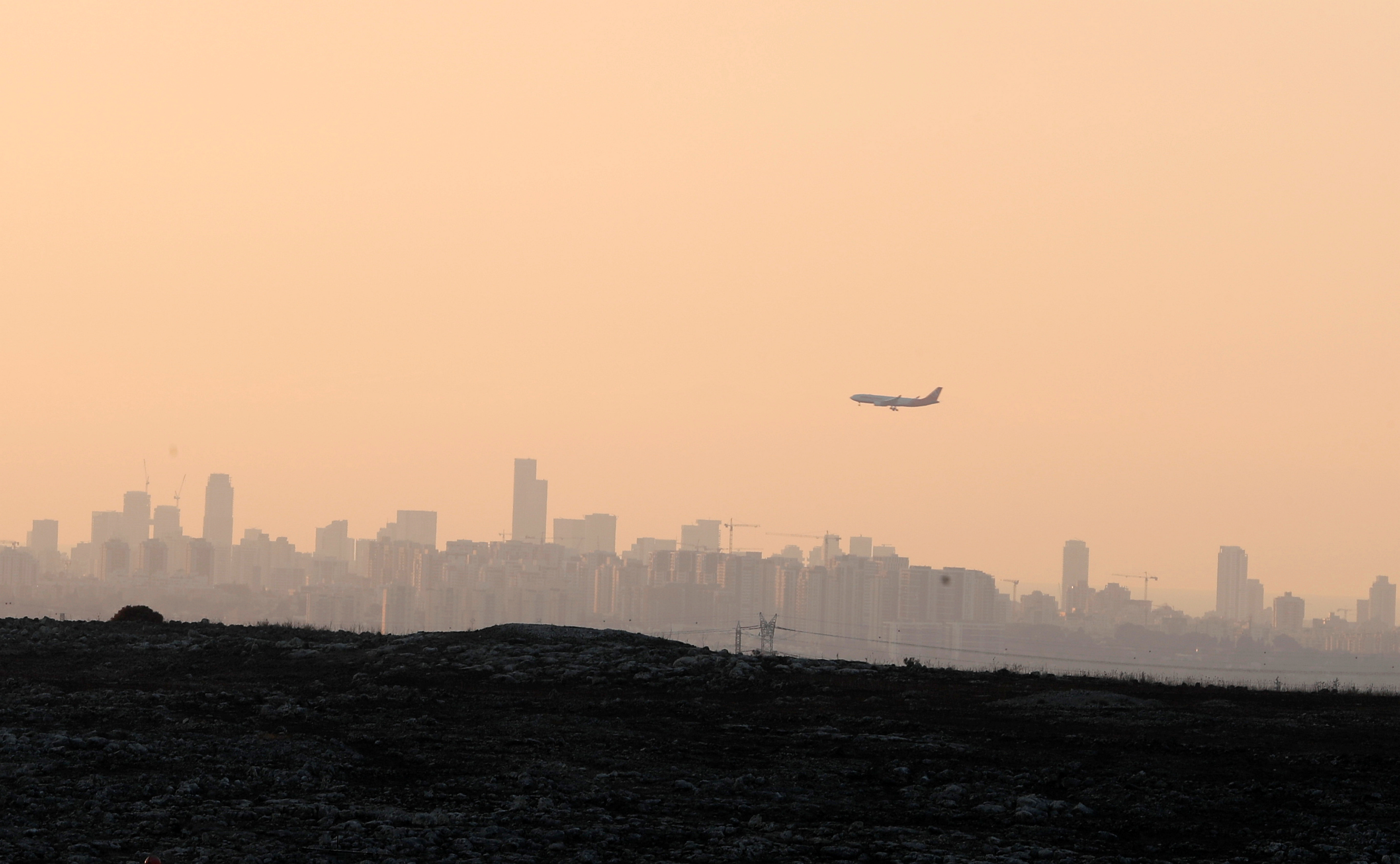 A general view of the urban landscape of Tel Aviv, Israel October 2, 2019. REUTERS/Ammar Awad
