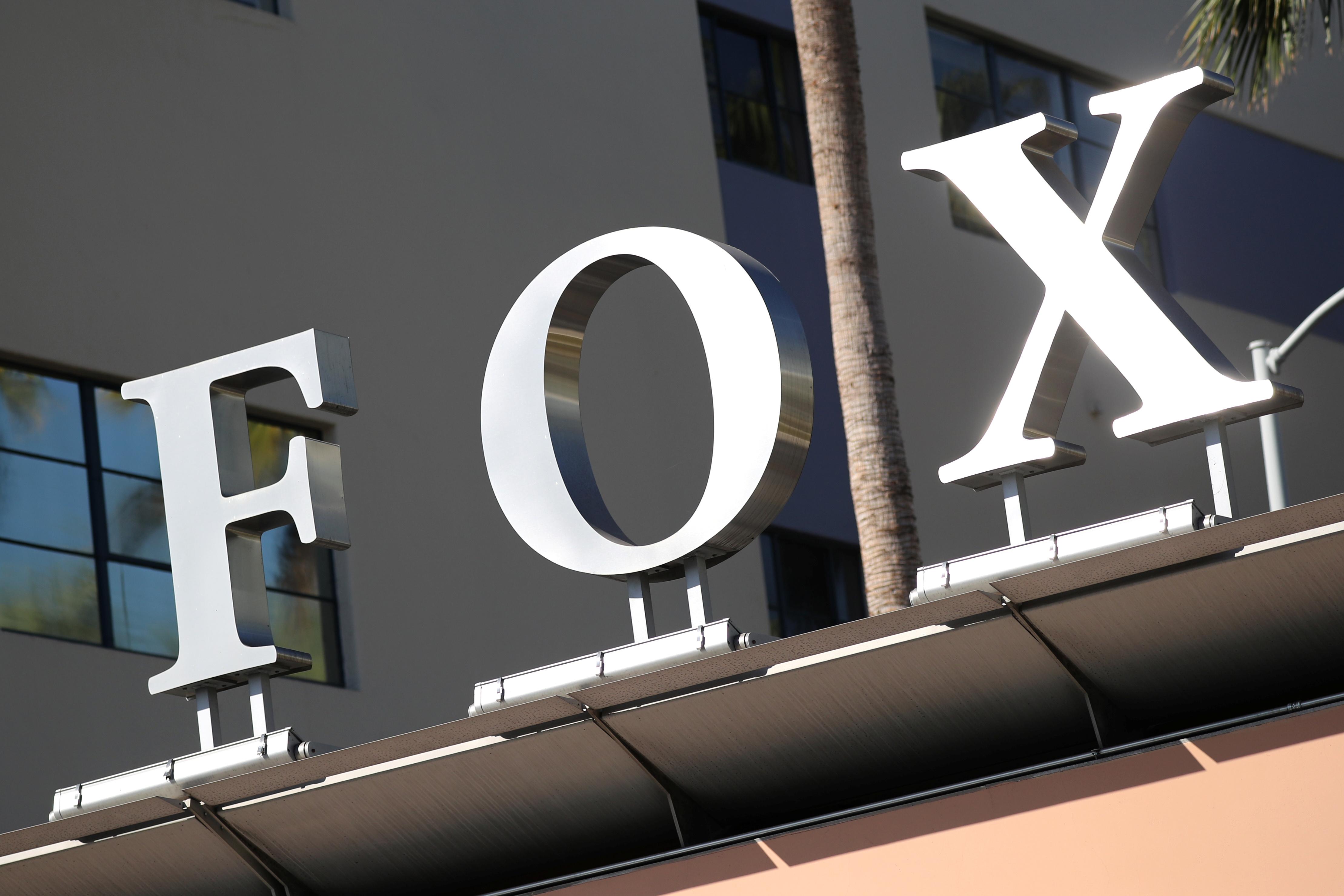 The Twenty-First Century Fox Studios logo is seen in Los Angeles, California U.S. November 6, 2017. REUTERS/Lucy Nicholson