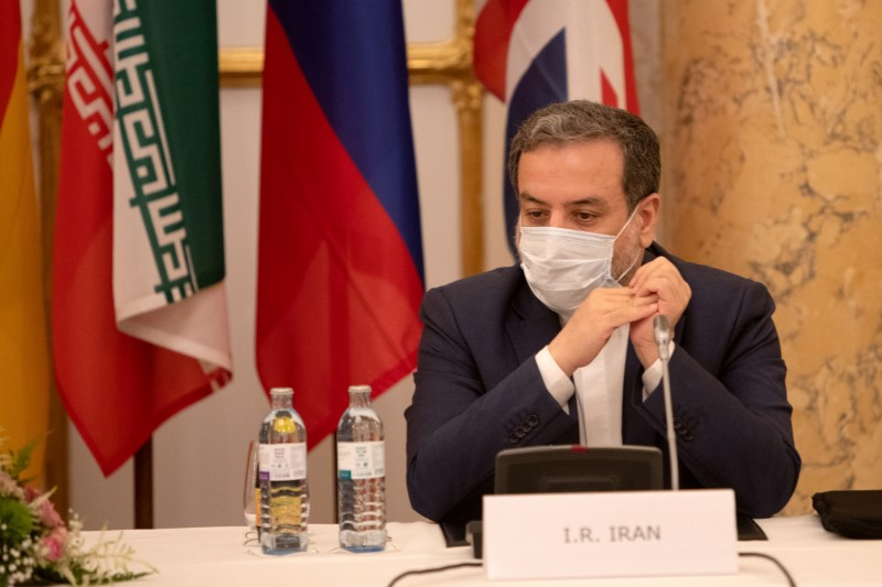 Iran's top nuclear negotiator, Abbas Araqchi, attends a meeting of the JCPOA Joint Commission in Vienna, Austria, September 1, 2020. European Commission EbS - EEAS/Handout via REUTERS