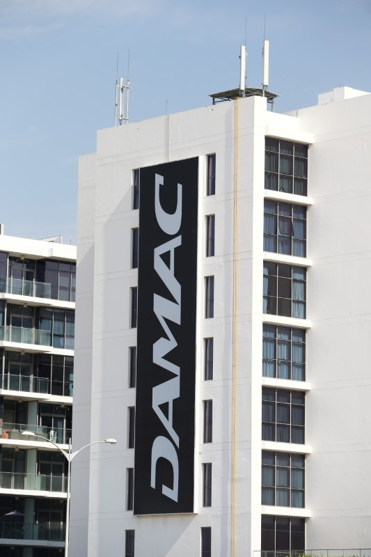 The corporate logo of DAMAC is seen in Dubai, United Arab Emirates, December 31, 2018. REUTERS/Hamad I Mohammed/File Photo